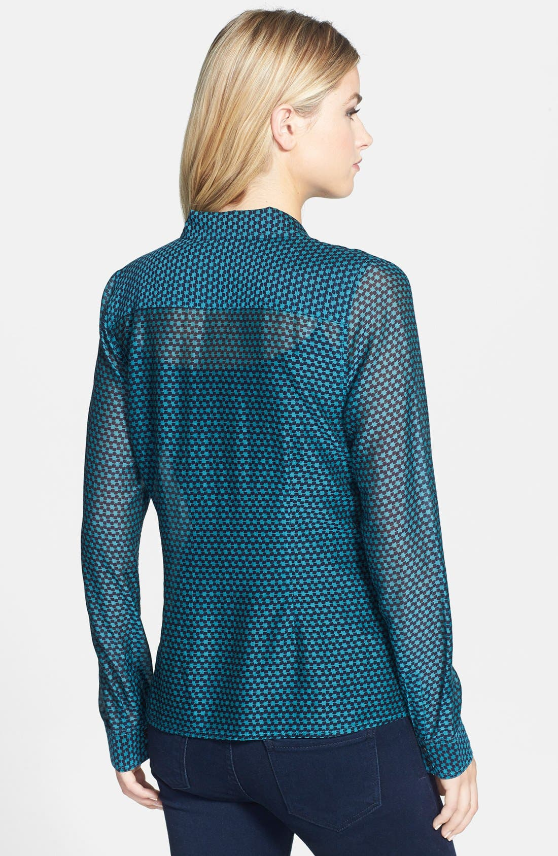 Cotton & Silk Shirt,                             Alternate thumbnail 72, color,