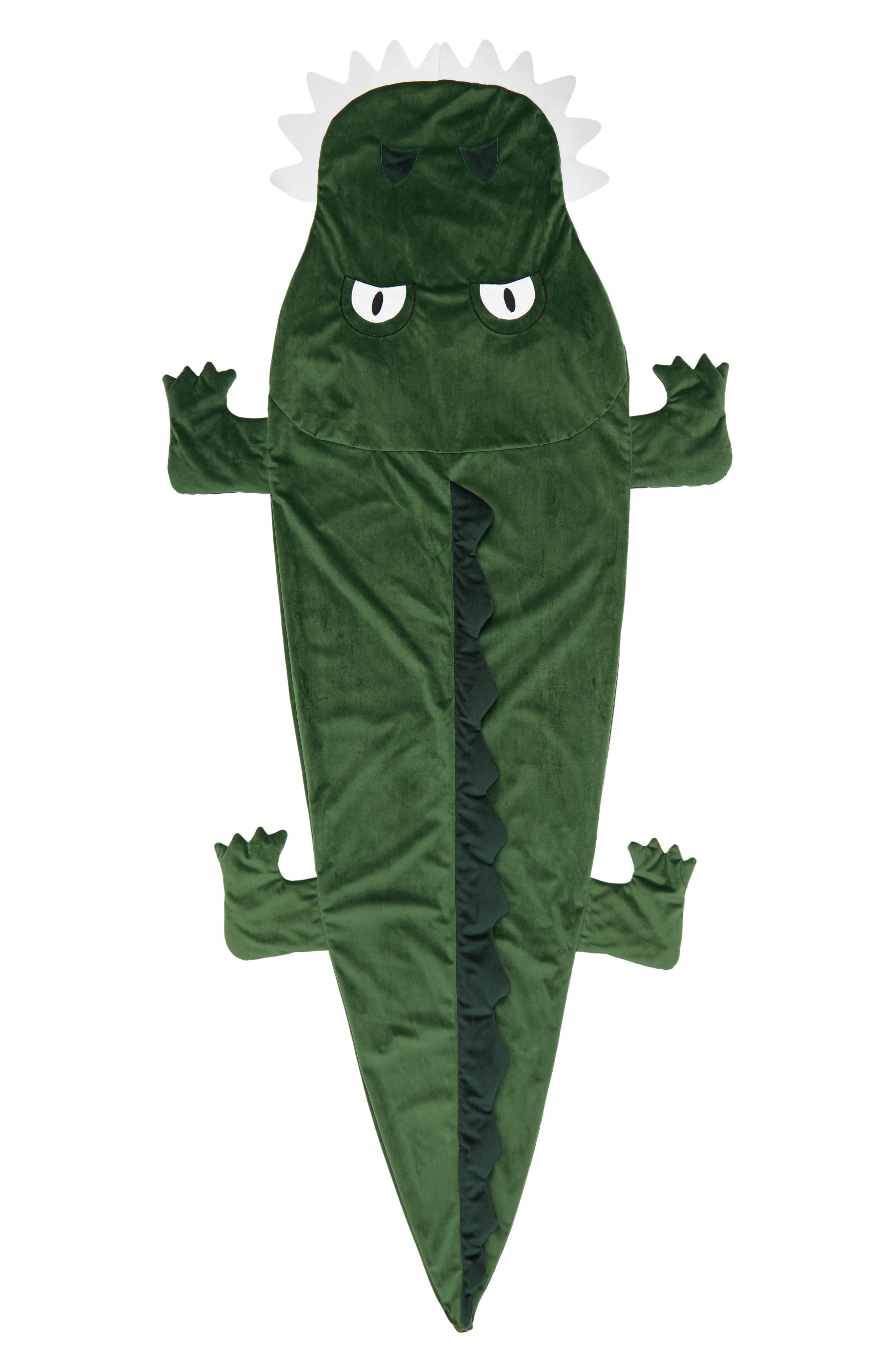 Under One Sky Green Alligator Snuggle Sack Size One Size  Green