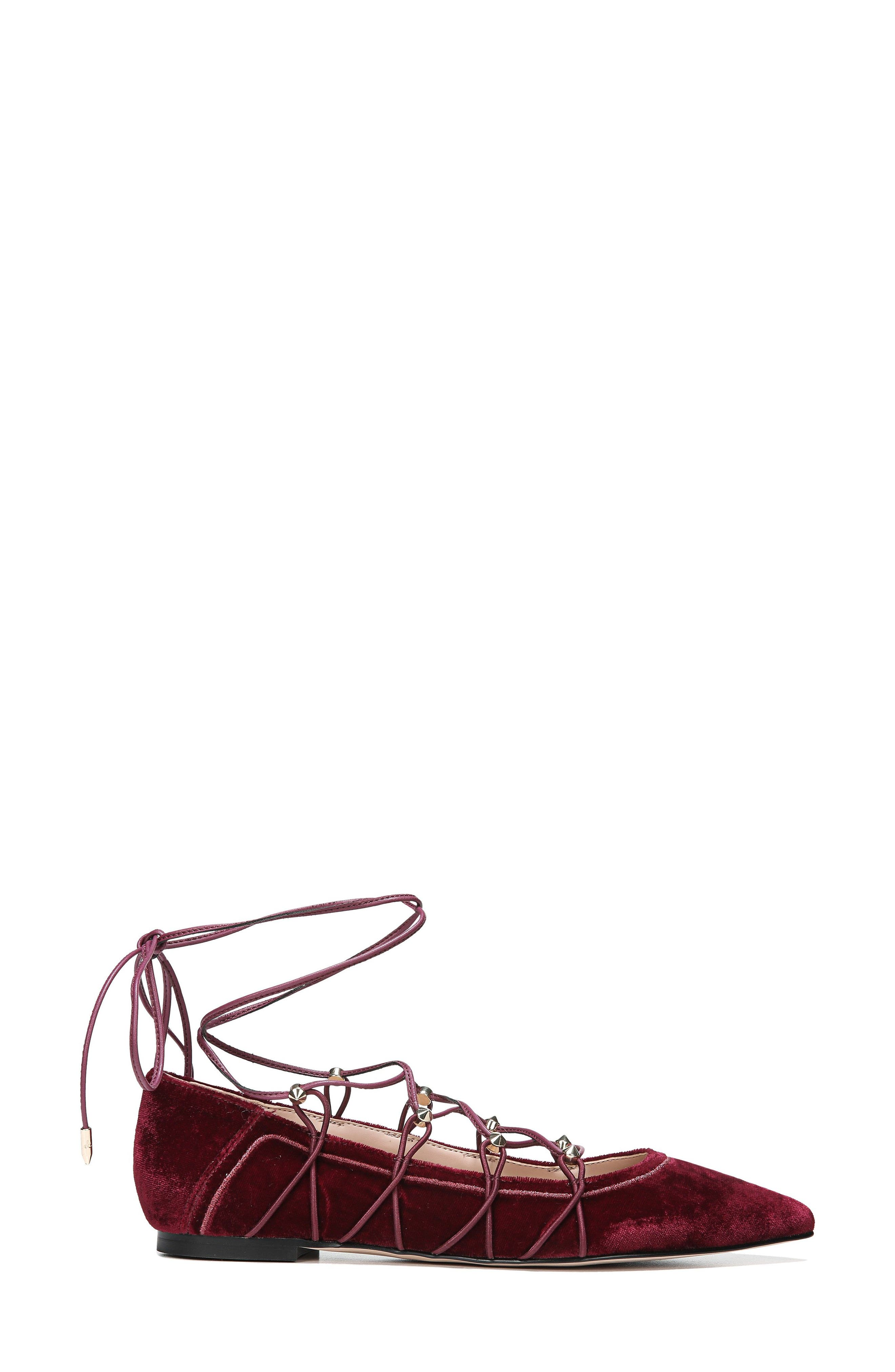 Rockwell Ghillie Pointy Toe Flat,                             Alternate thumbnail 6, color,