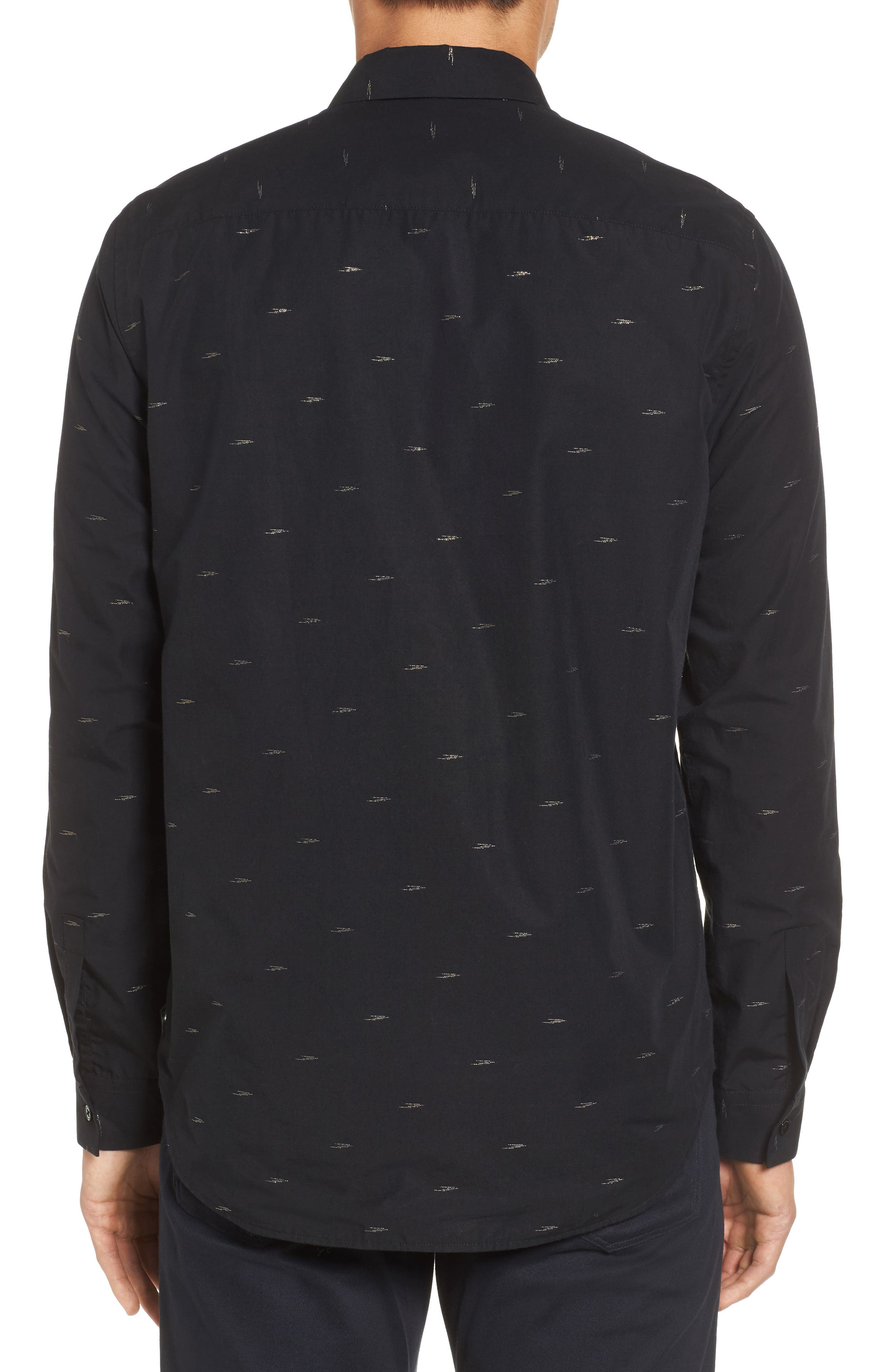 Levy Regular Fit Sport Shirt,                             Alternate thumbnail 2, color,                             001