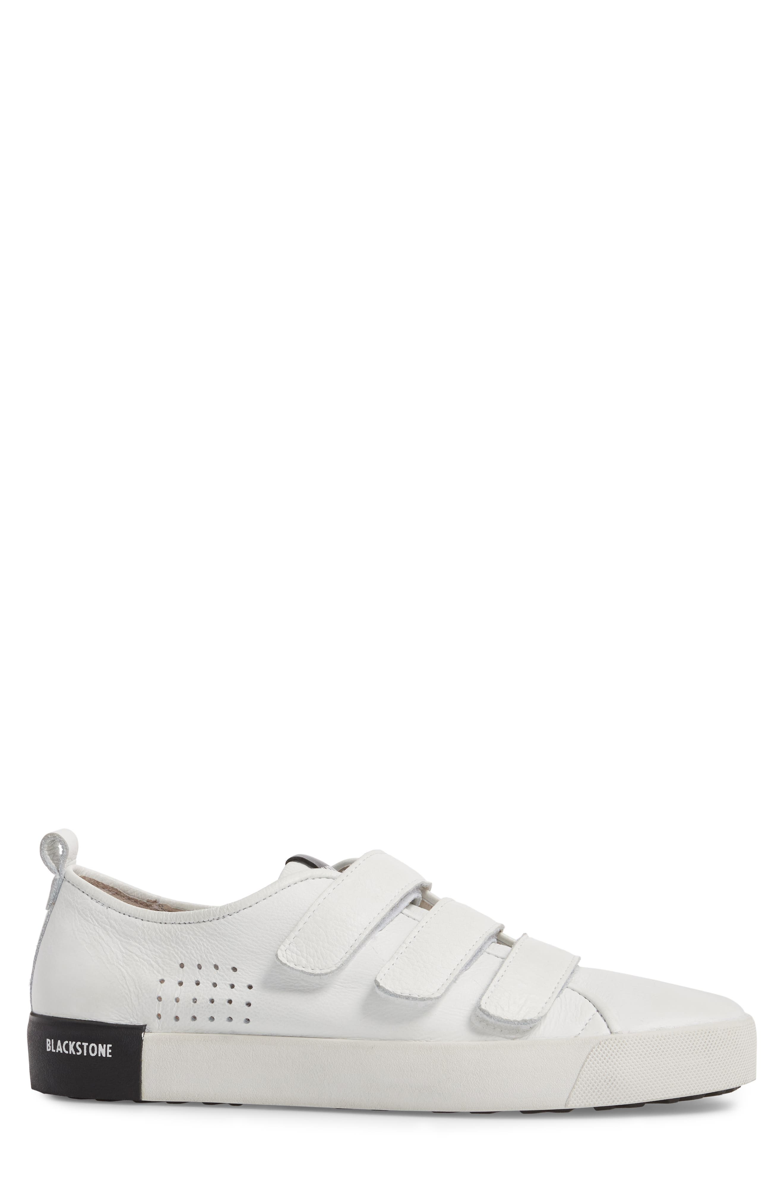 PM41 Low Top Sneaker,                             Alternate thumbnail 3, color,                             WHITE LEATHER