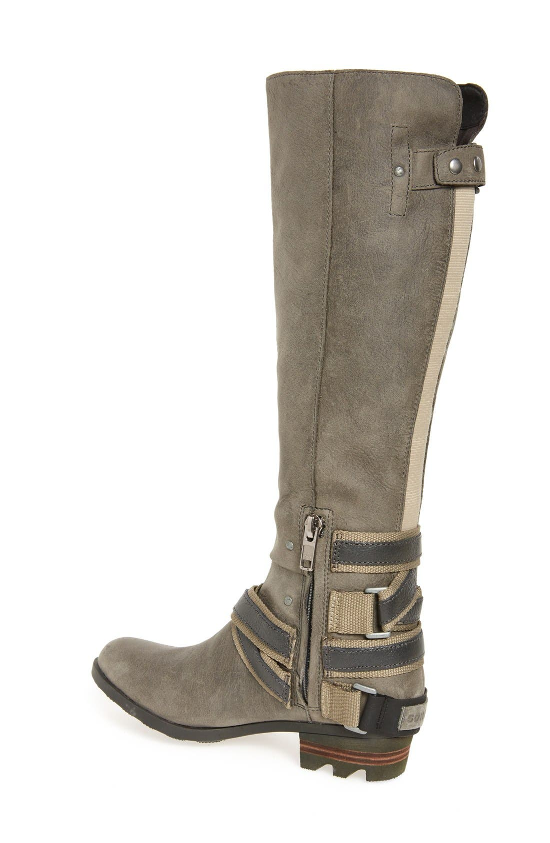 Lolla Water Resistant Tall Boot,                             Alternate thumbnail 8, color,