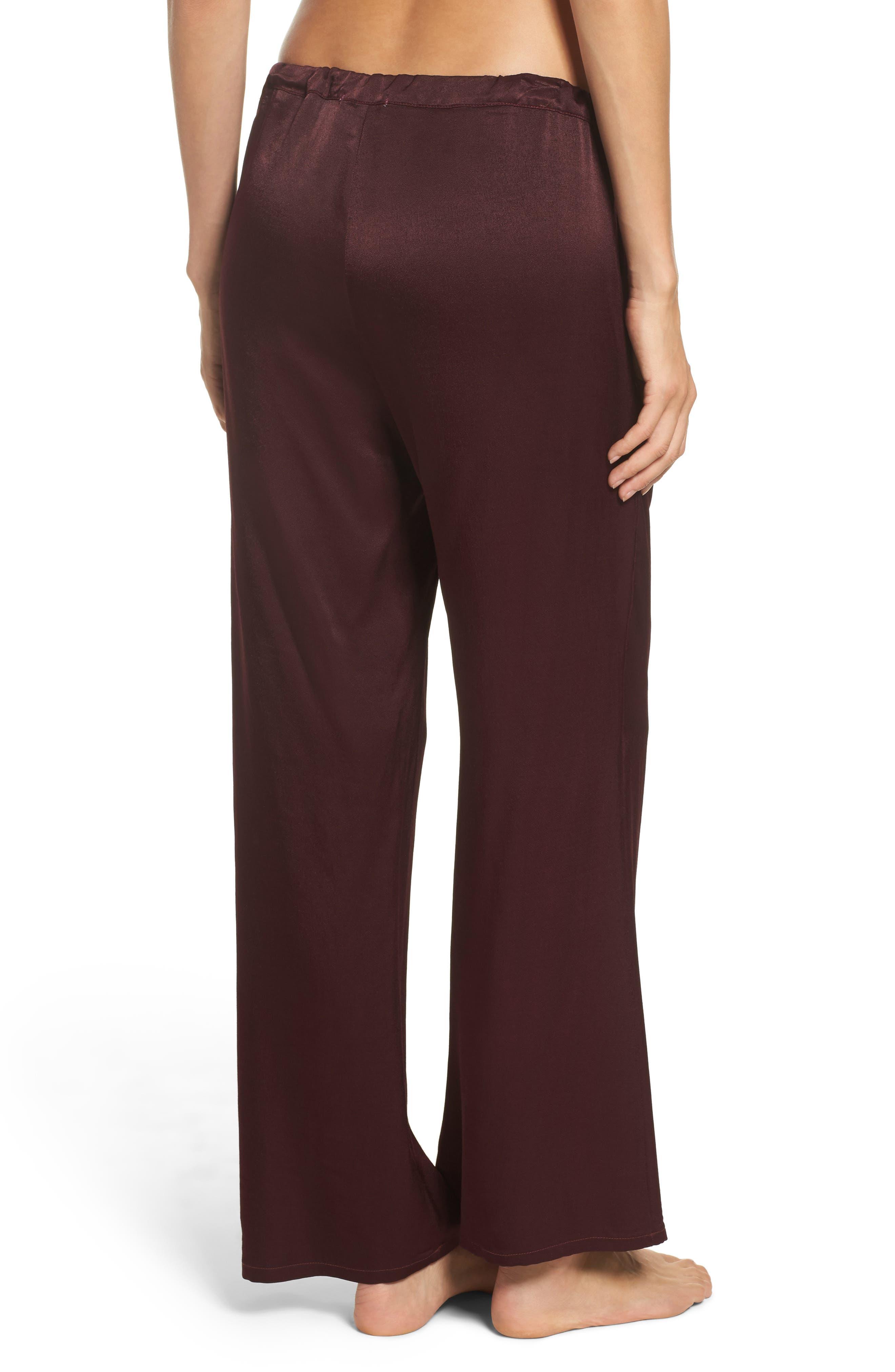 Vela Pajama Pants,                             Alternate thumbnail 4, color,