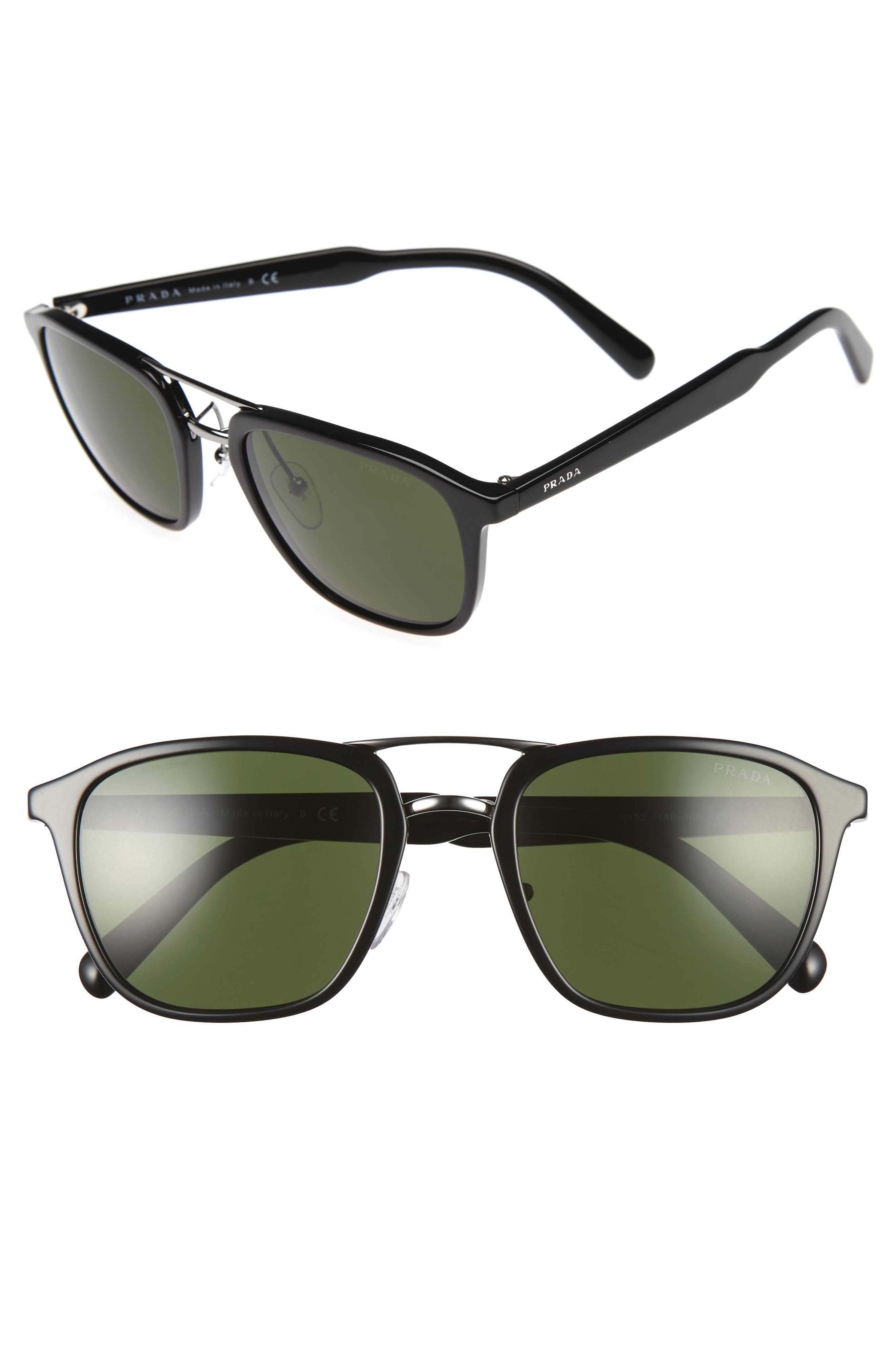 54mm Sunglasses,                             Main thumbnail 1, color,                             001