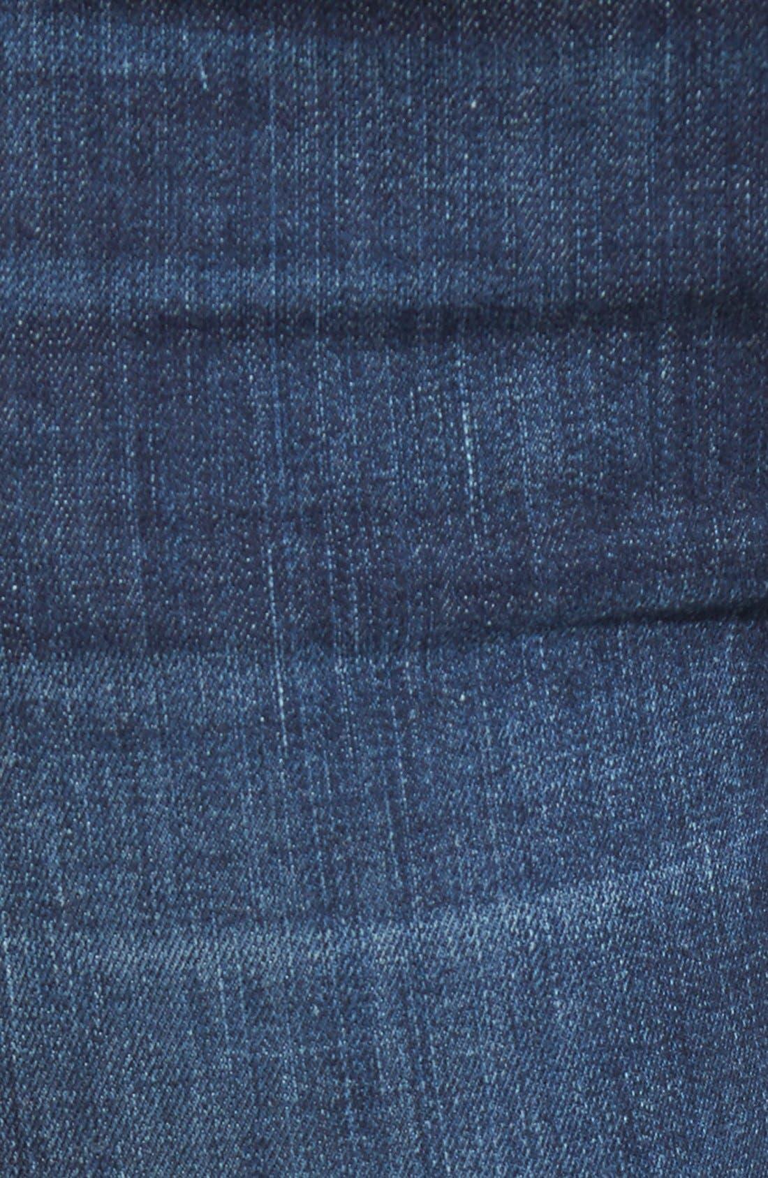 'Halle' Skinny Jeans,                             Alternate thumbnail 5, color,                             402
