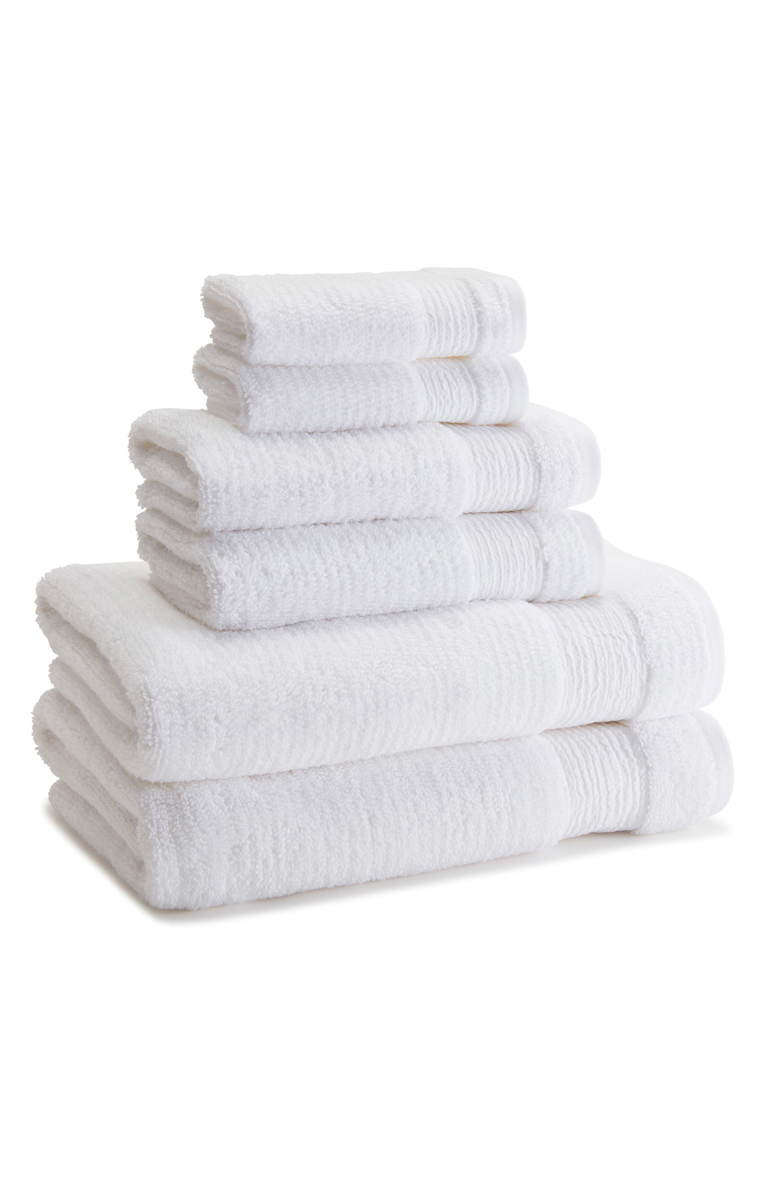 Kassatex Pergamon Hand Towel Size One Size  White