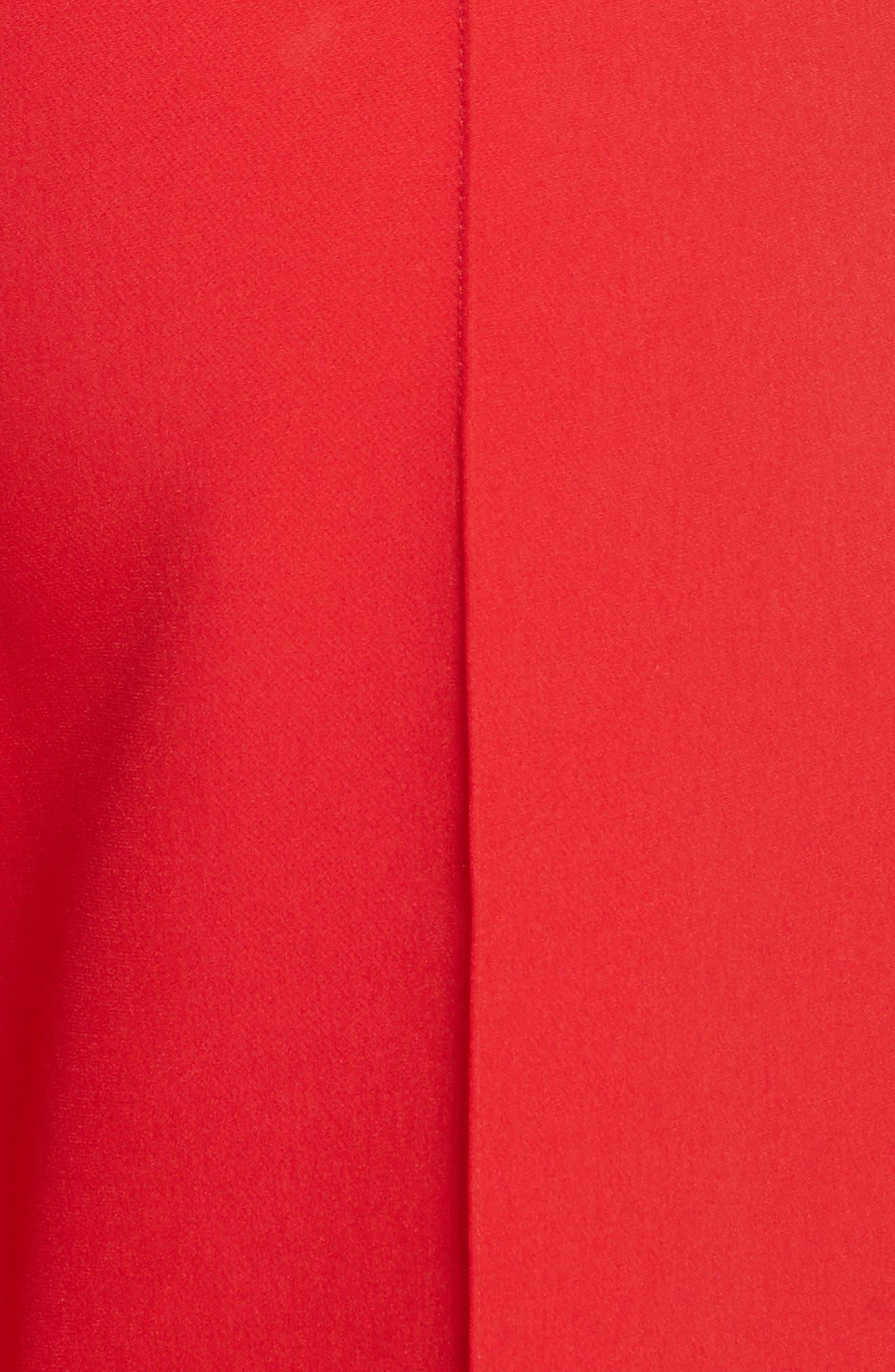 Hayden Italian Cady Crop Pants,                             Alternate thumbnail 5, color,                             649