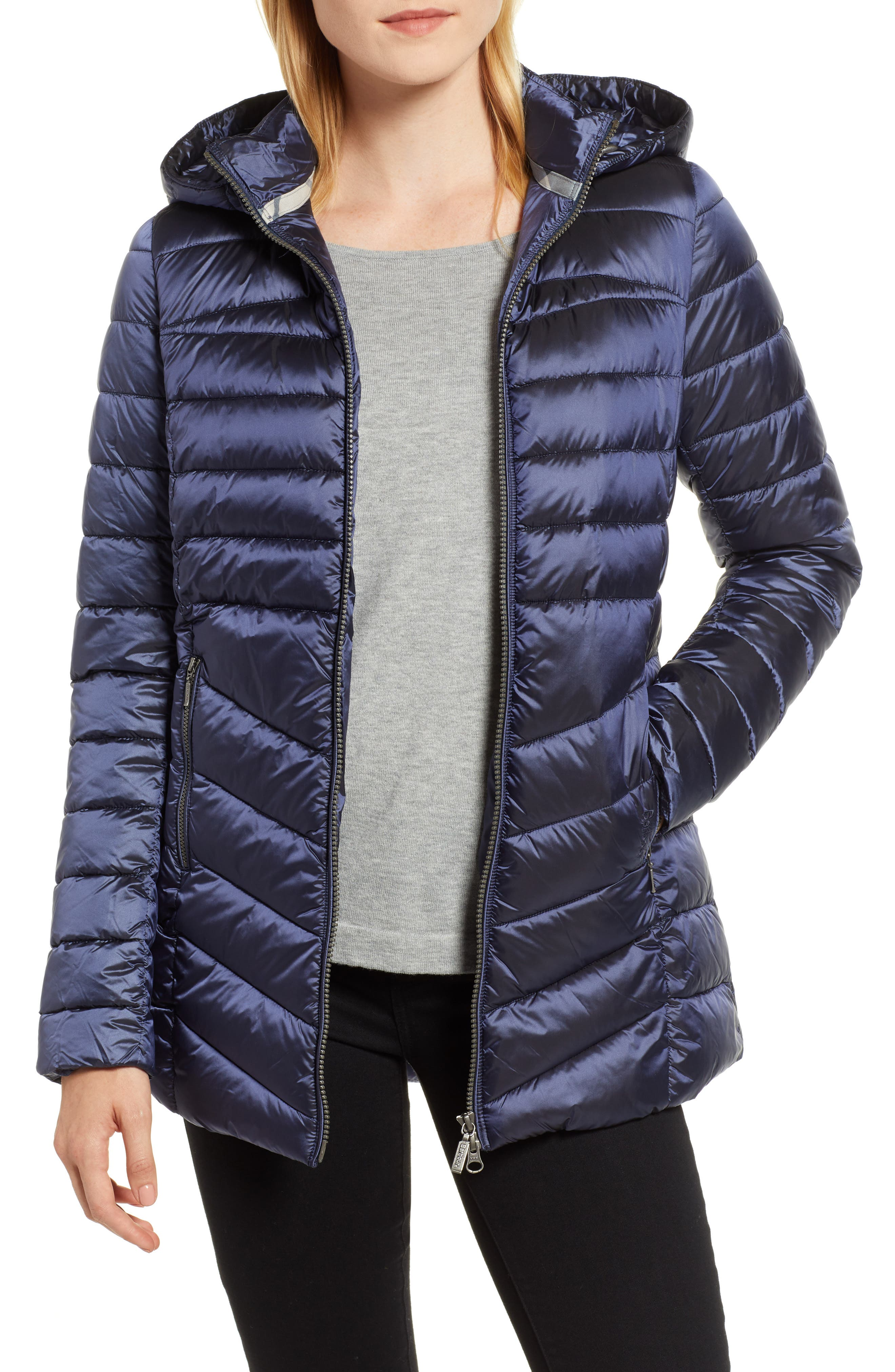 Ailith Quilted Jacket, Main, color, ROYAL NAVY