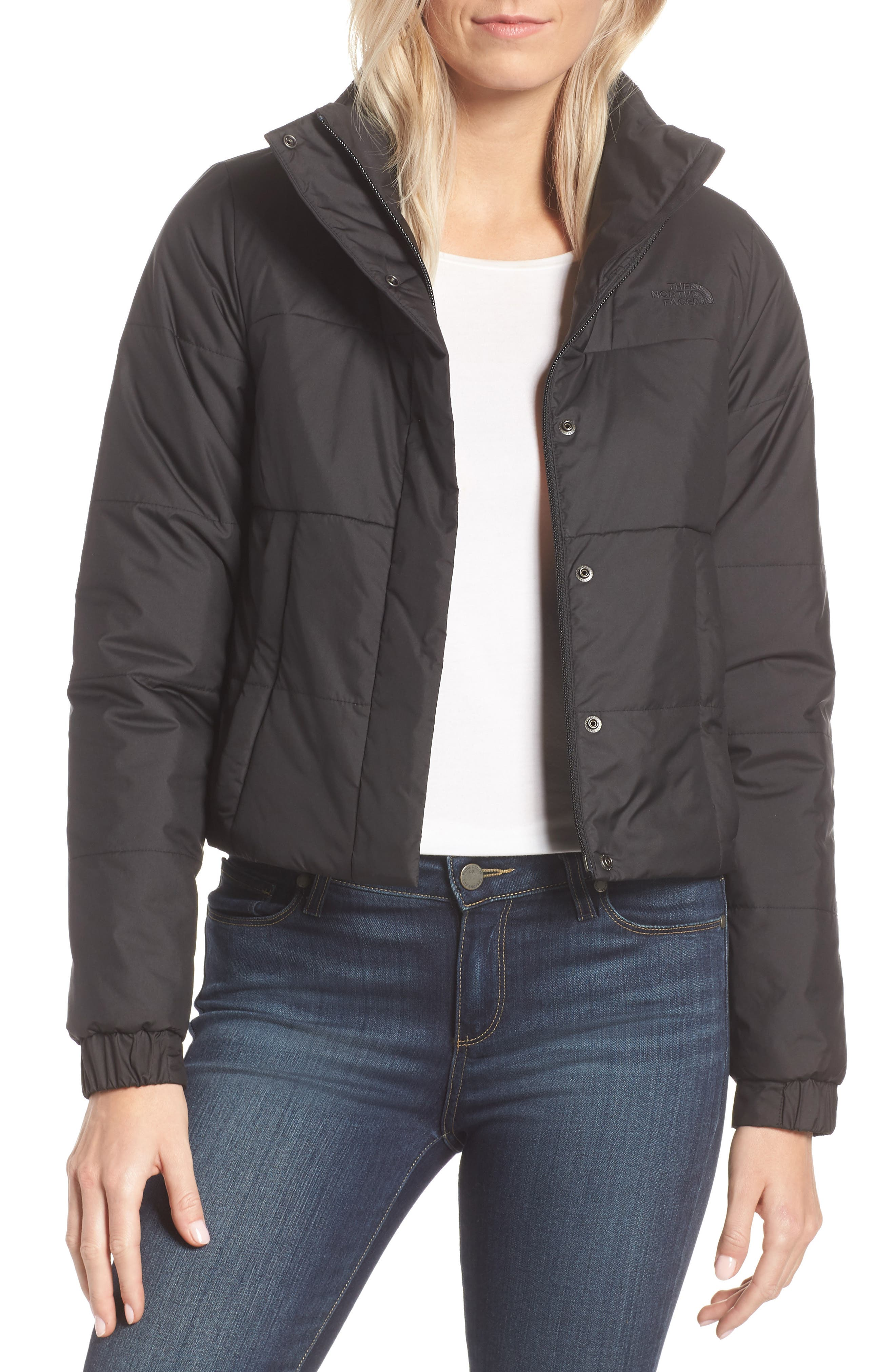 THE NORTH FACE Femtastic Heatseeker Insulated Jacket, Main, color, TNF BLACK