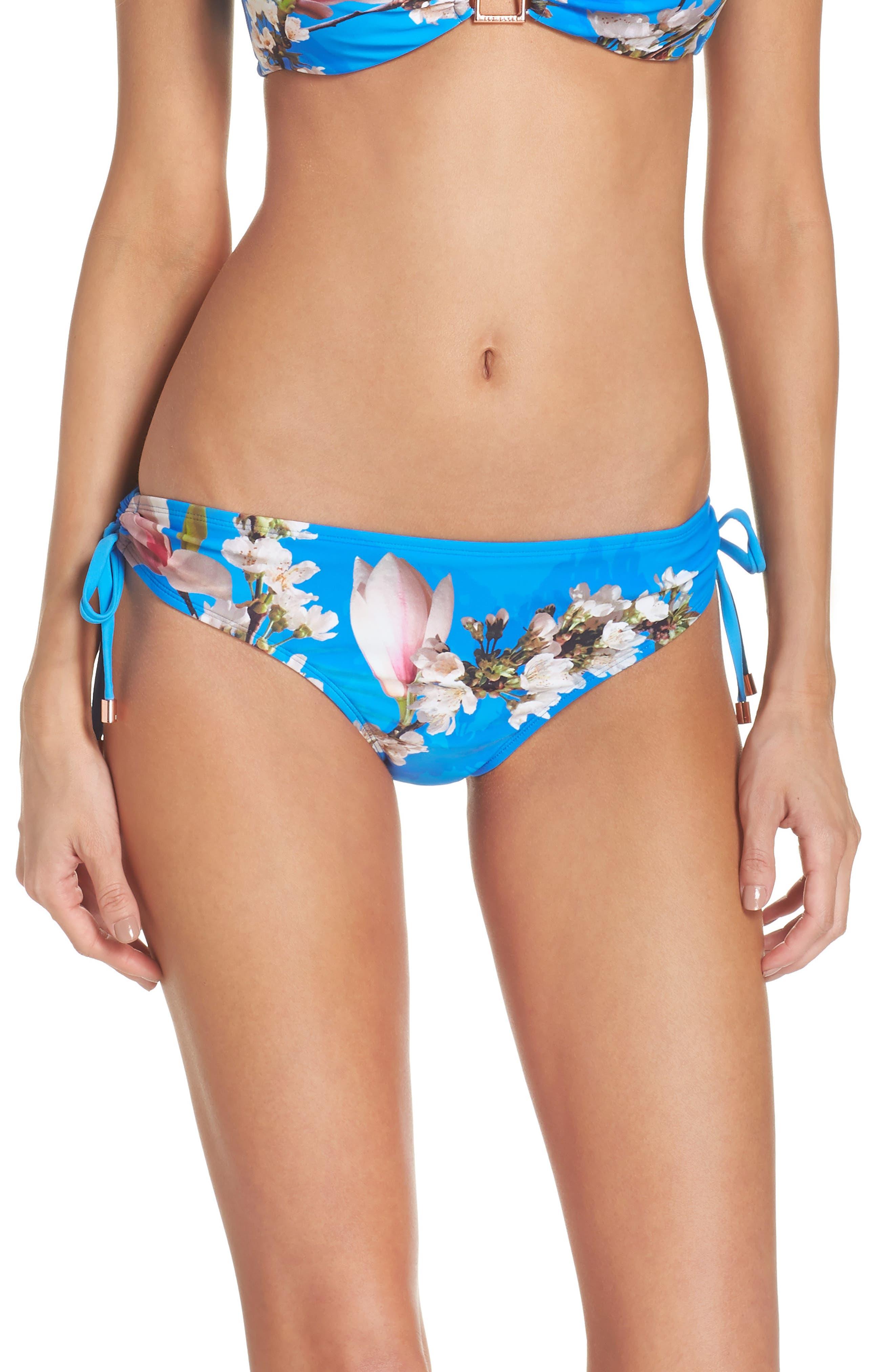 Harmony Side Tie Bikini Bottoms,                         Main,                         color, 430
