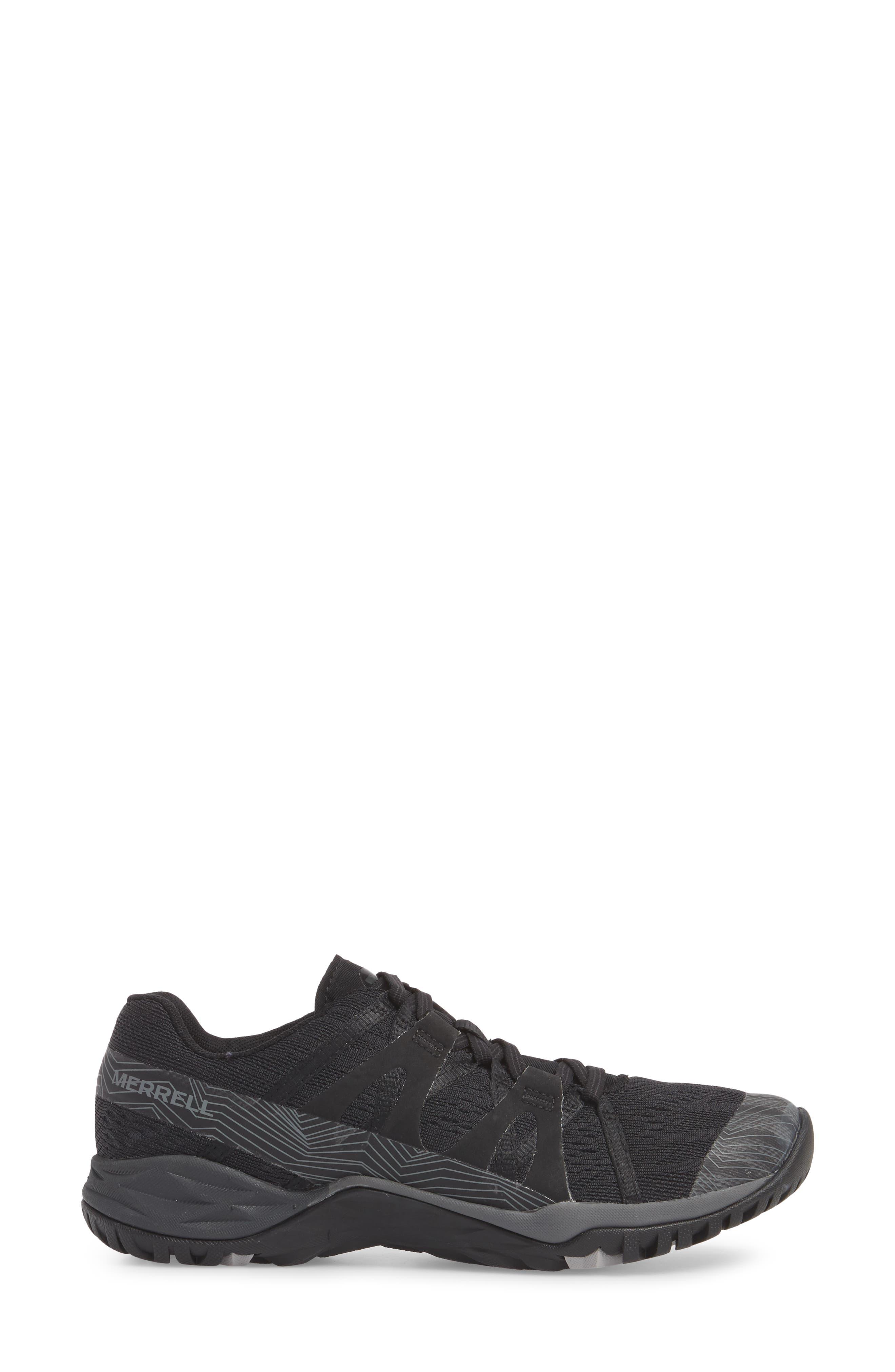 Siren Hex Sneaker,                             Alternate thumbnail 3, color,                             001