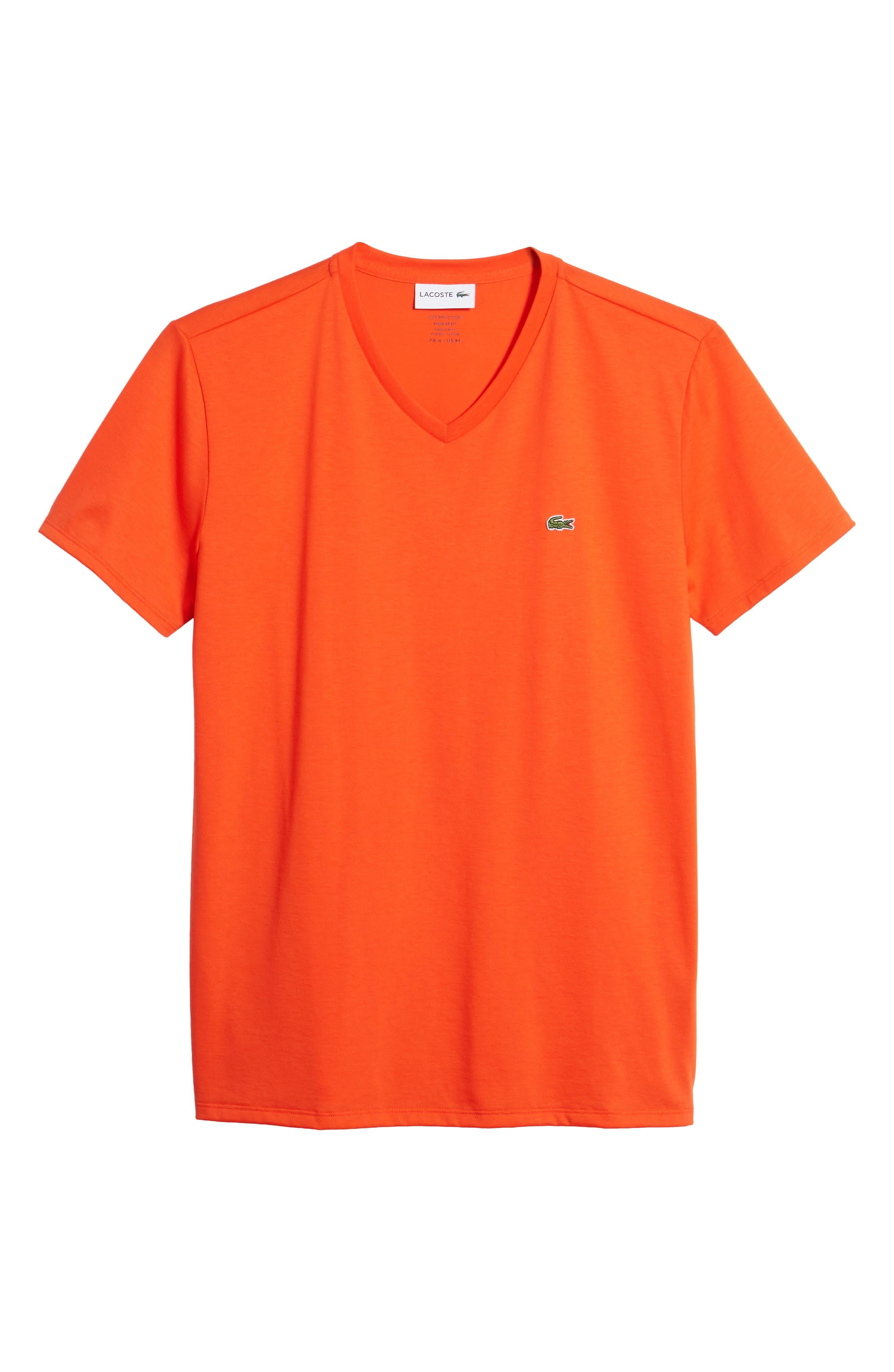 V-Neck Cotton T-Shirt,                             Alternate thumbnail 24, color,