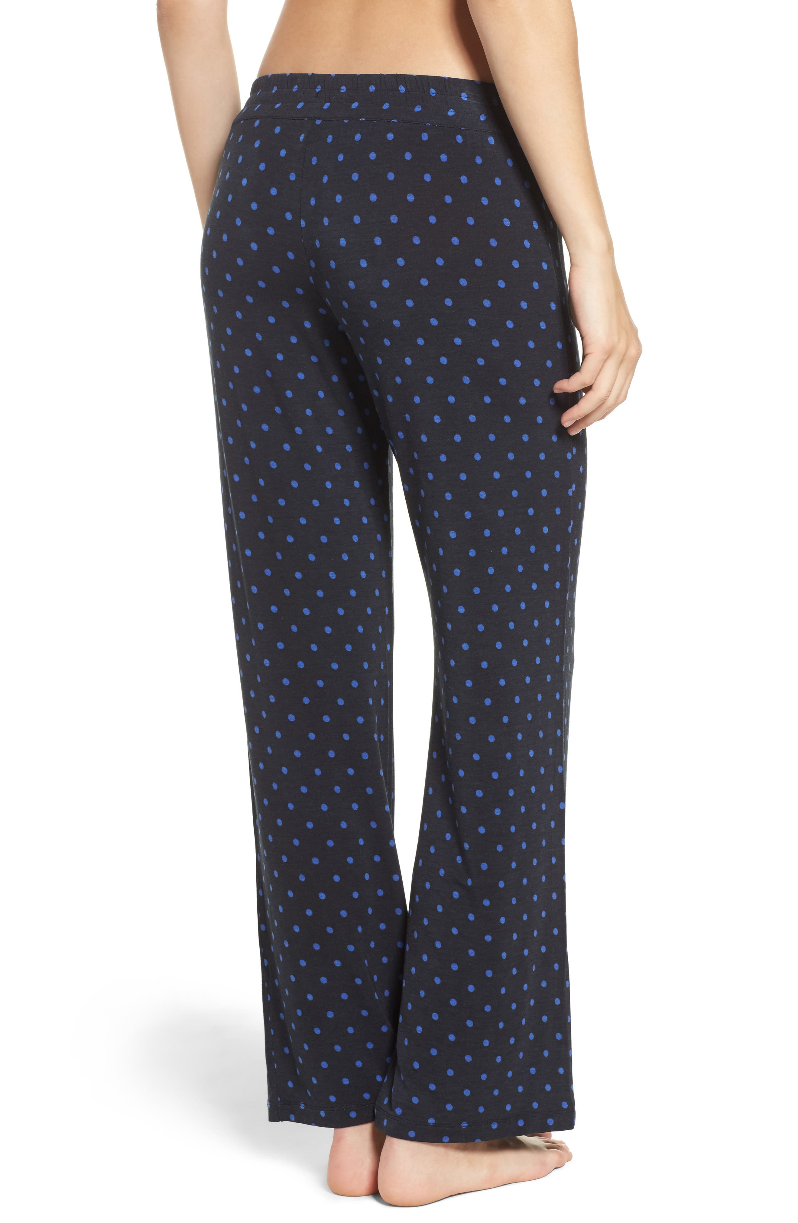 Dot Lounge Pants,                             Alternate thumbnail 2, color,                             400