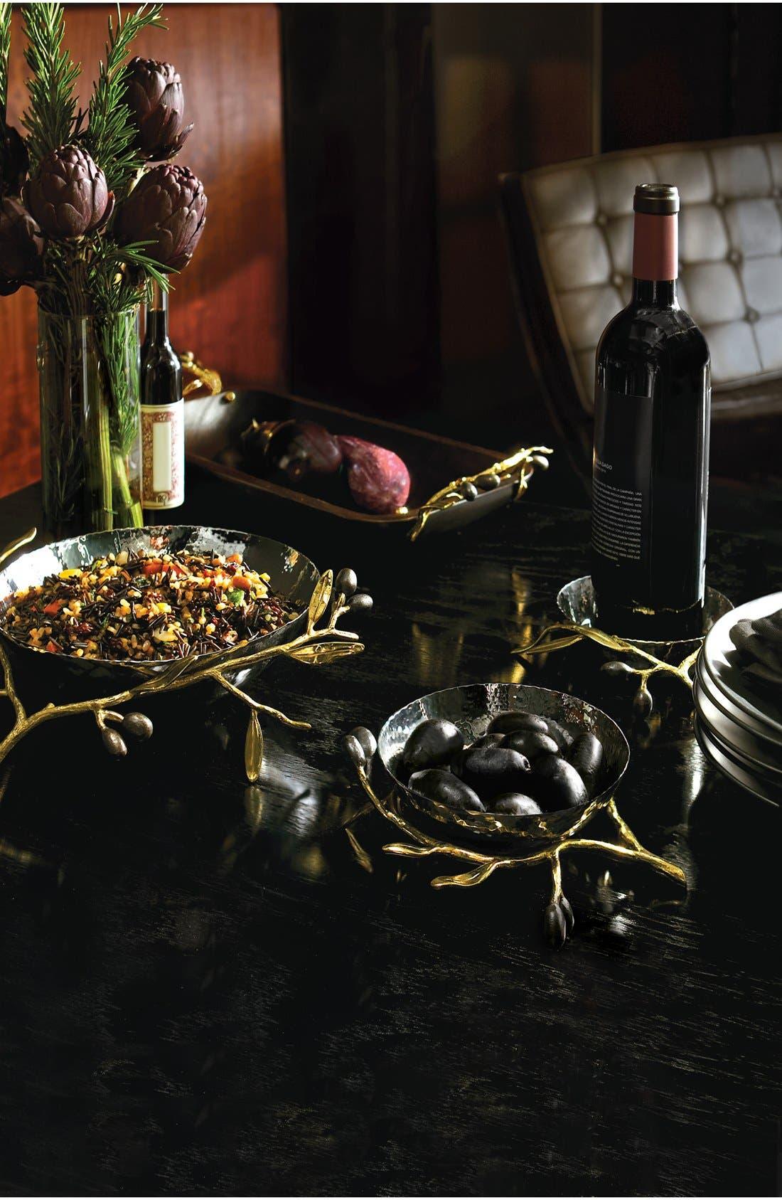 'Olive Branch Gold - Medium' Serving Bowl,                             Alternate thumbnail 2, color,                             NO COLOR
