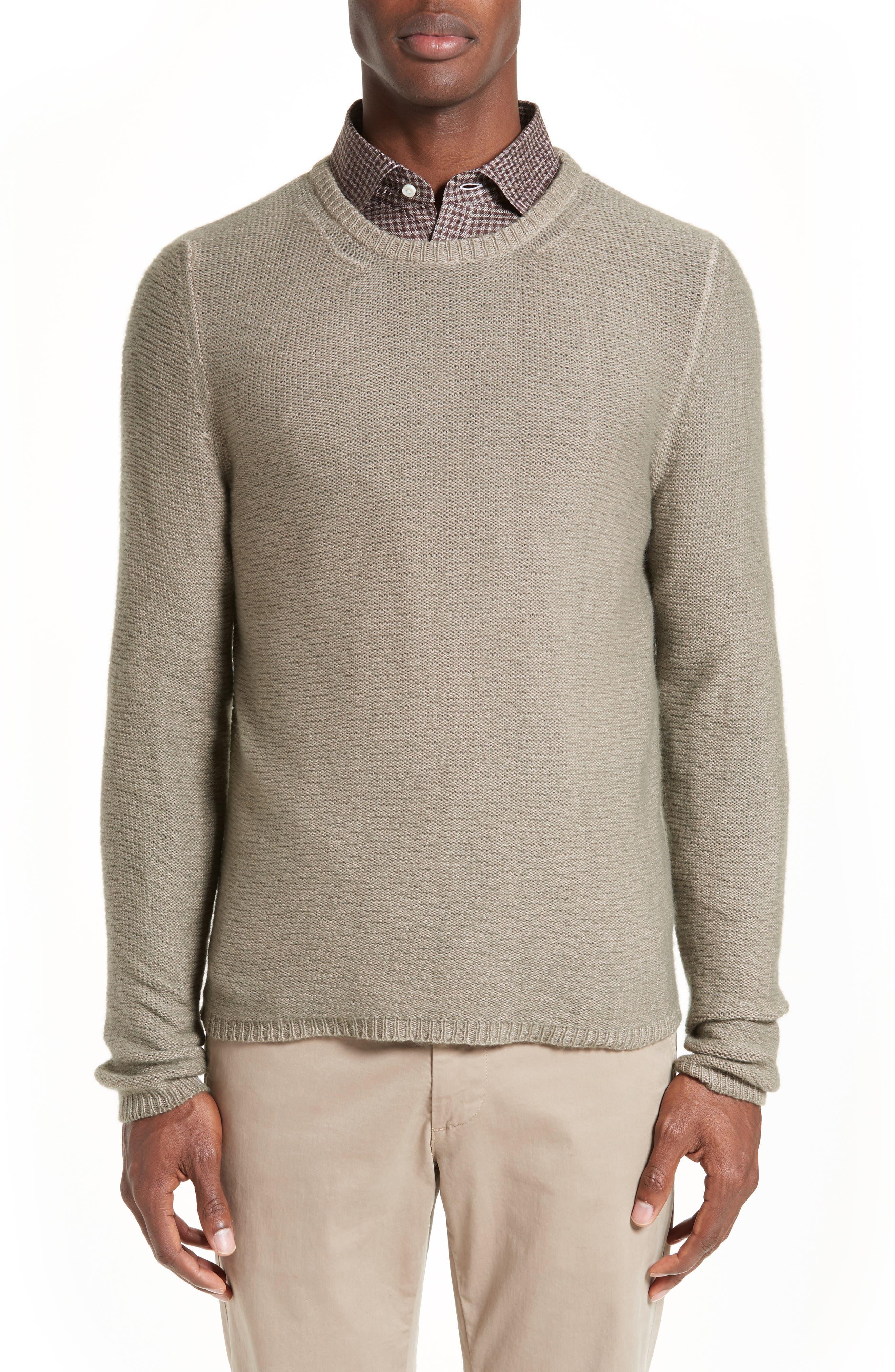 Napoli Slub Cashmere Sweater, Main, color, 200