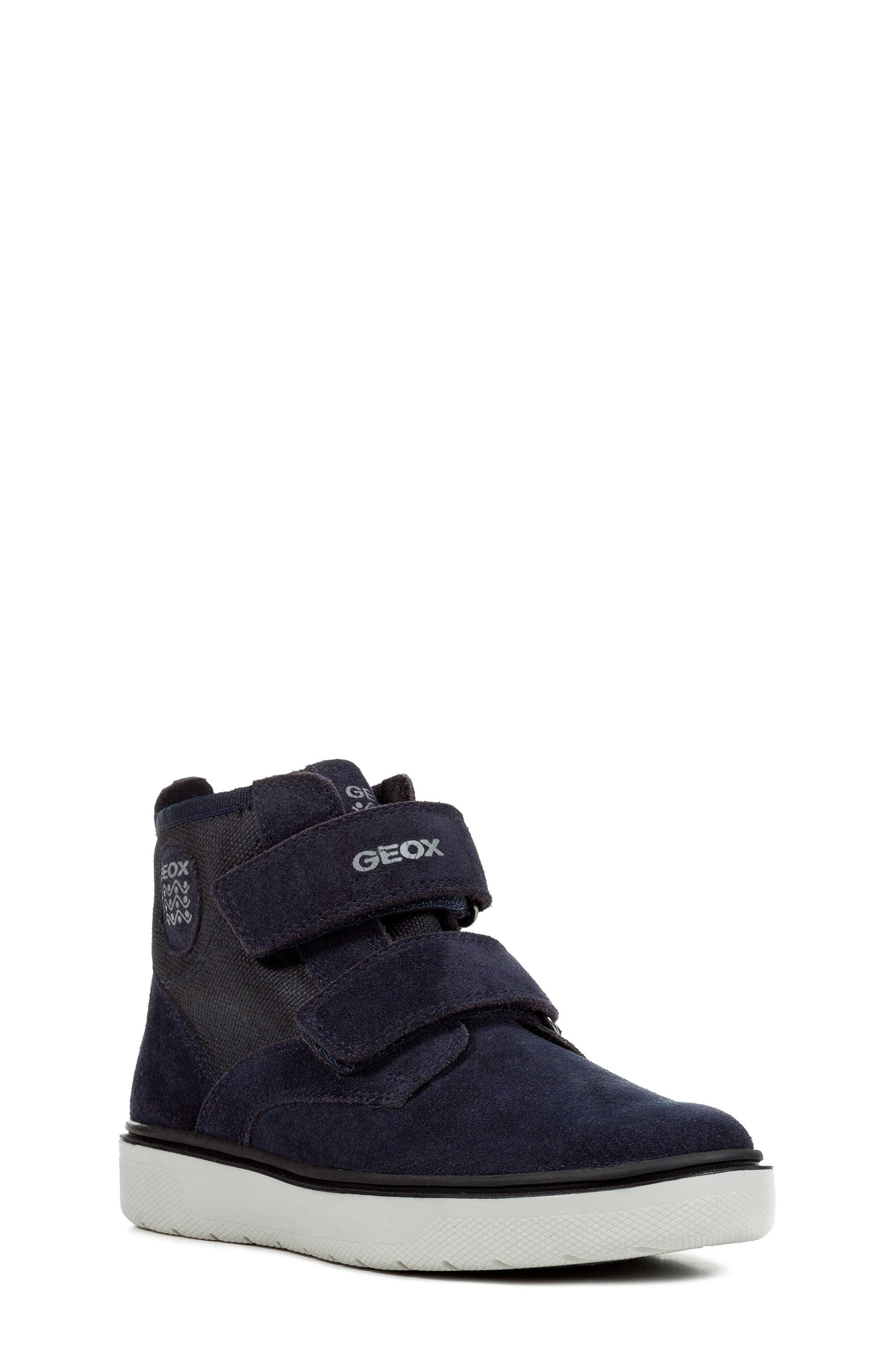 Riddock High Top Sneaker,                             Main thumbnail 1, color,                             NAVY/GREY