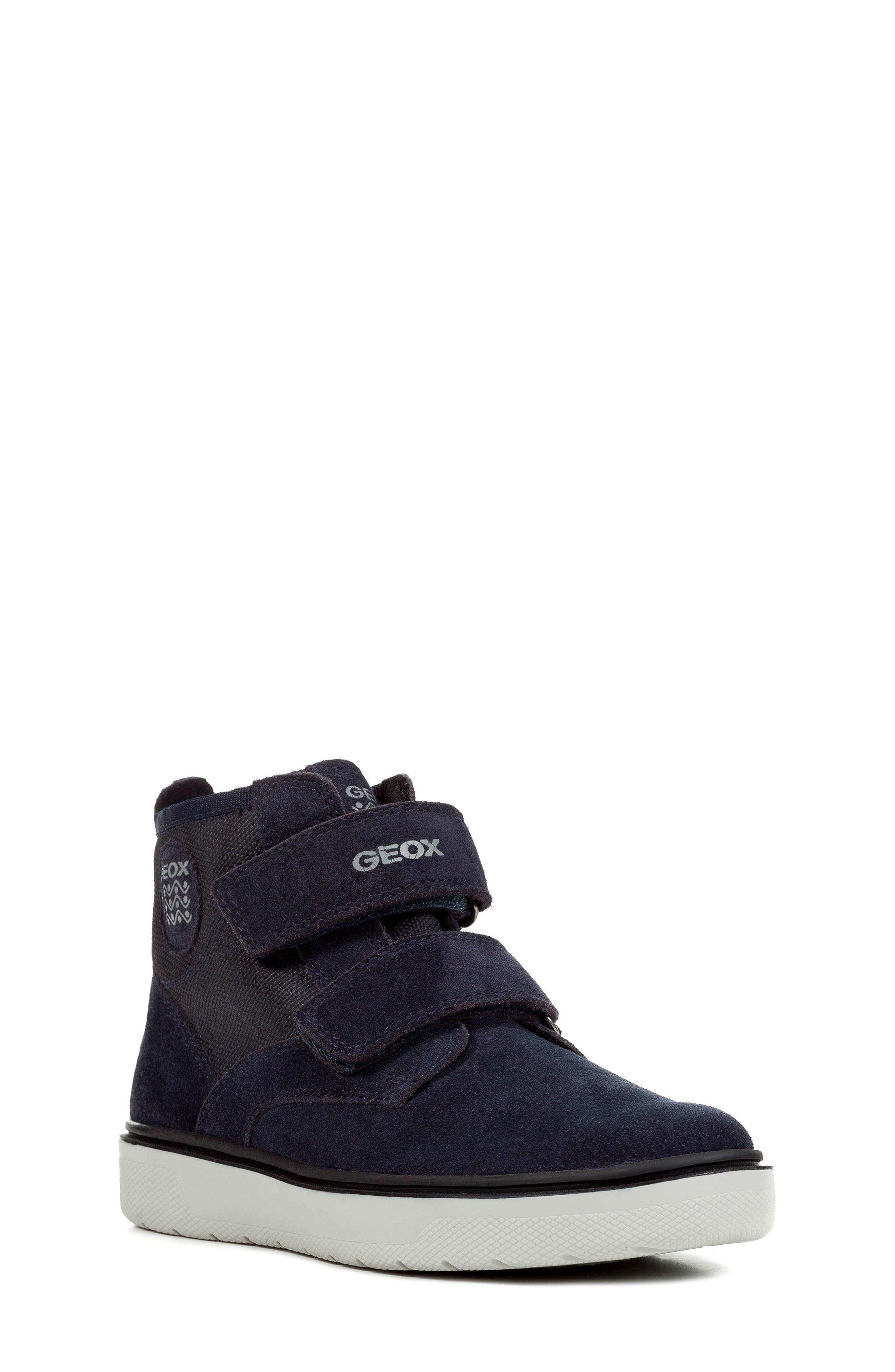 Riddock High Top Sneaker,                         Main,                         color, NAVY/GREY