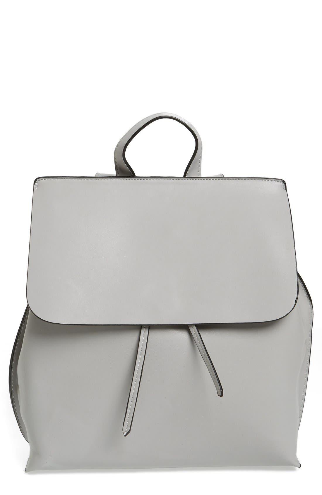 Selena Faux Leather Backpack,                             Main thumbnail 3, color,