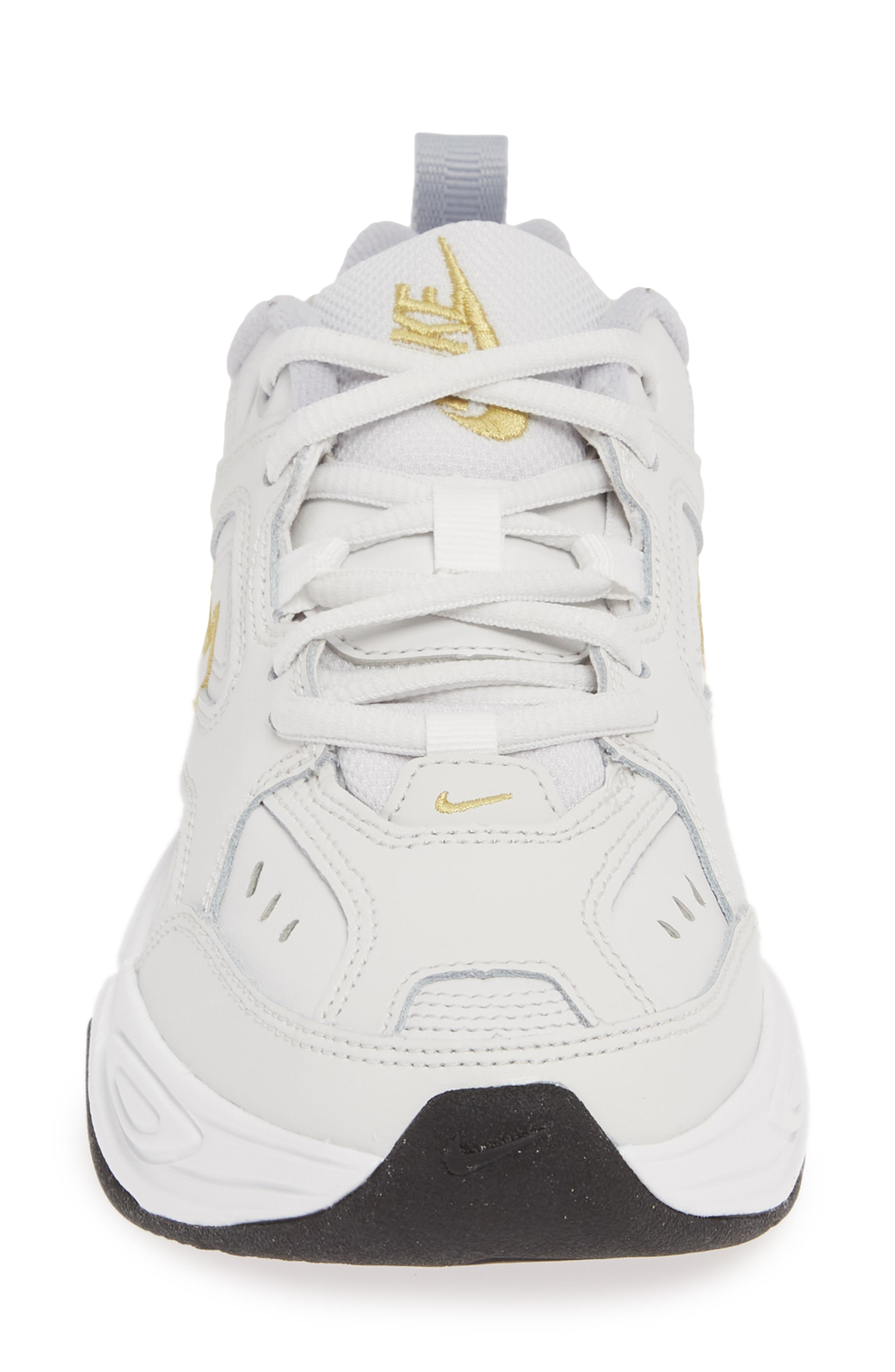M2K Tekno Sneaker,                             Alternate thumbnail 4, color,                             PLATINUM TINT/ CELERY/ GREY