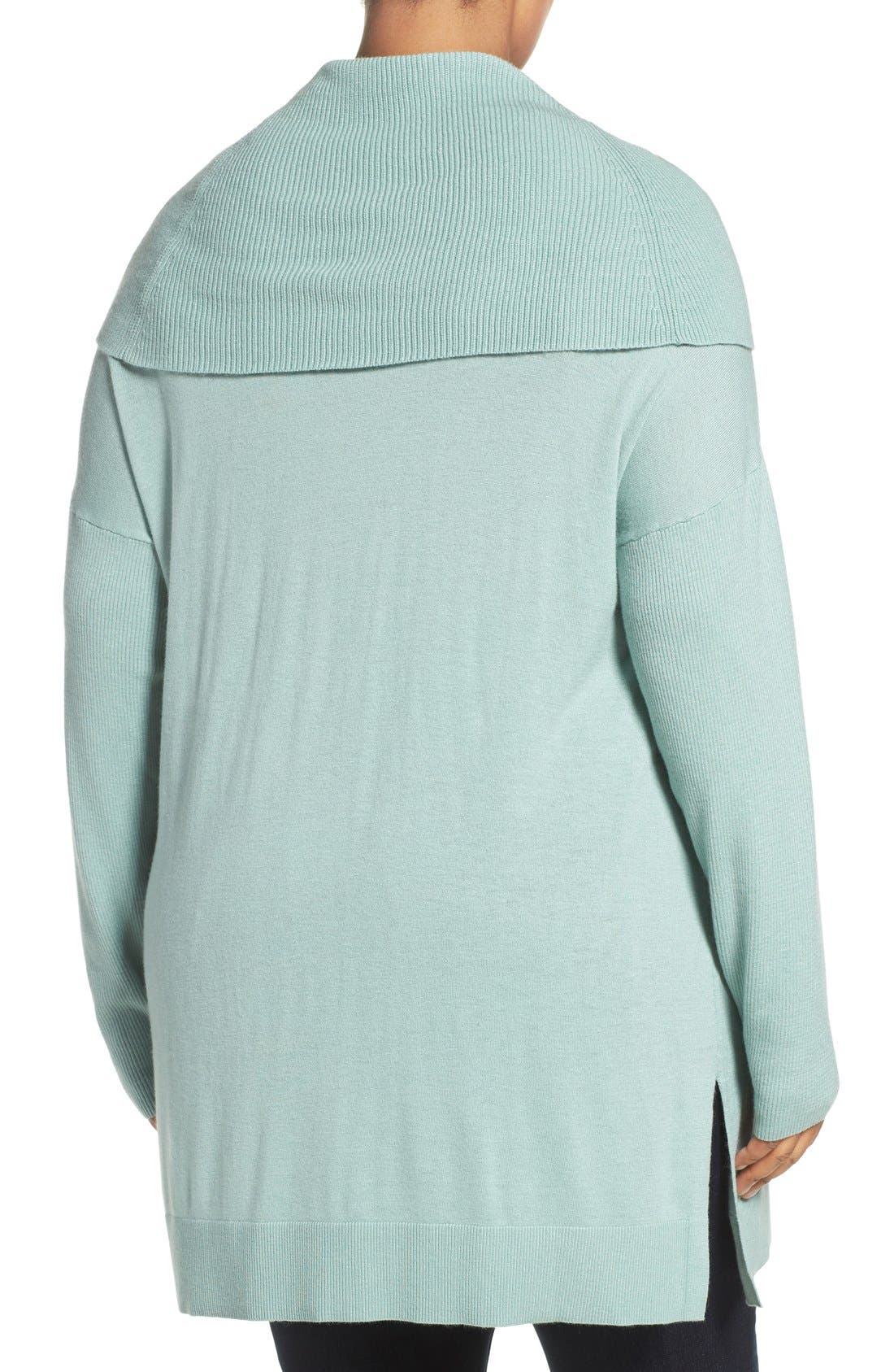 Cowl Neck Tunic Sweater,                             Alternate thumbnail 16, color,