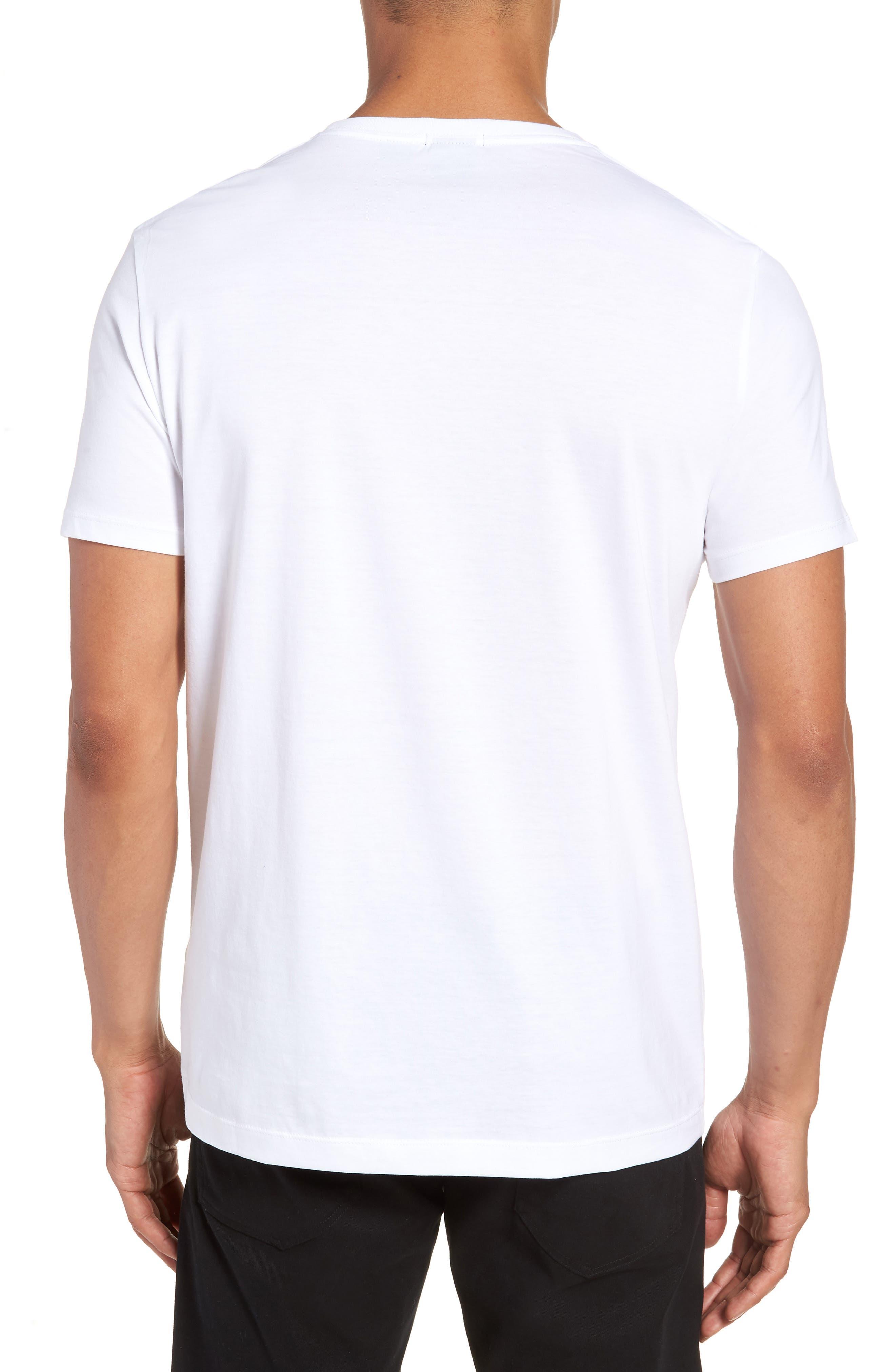 Tiburt Regular Fit Crewneck T-Shirt,                             Alternate thumbnail 5, color,