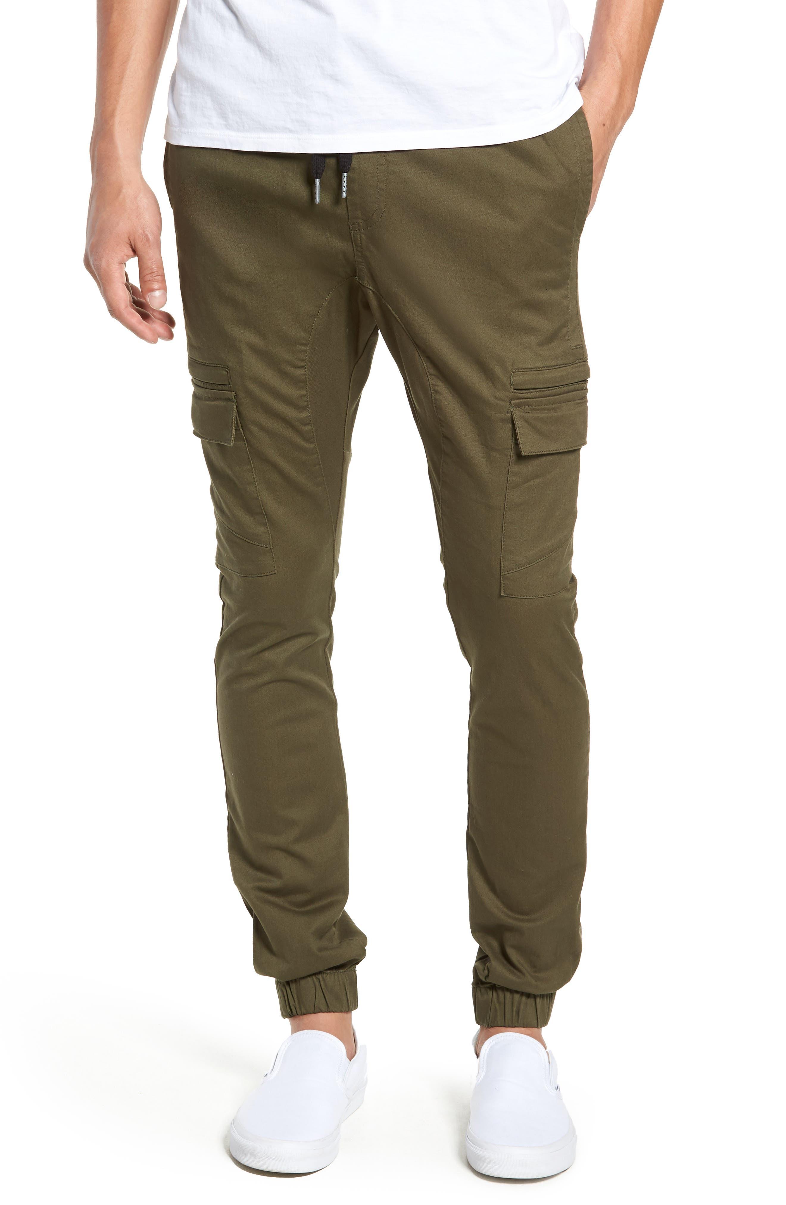 Sureshot Cargo Jogger Pants,                         Main,                         color, MILITARY