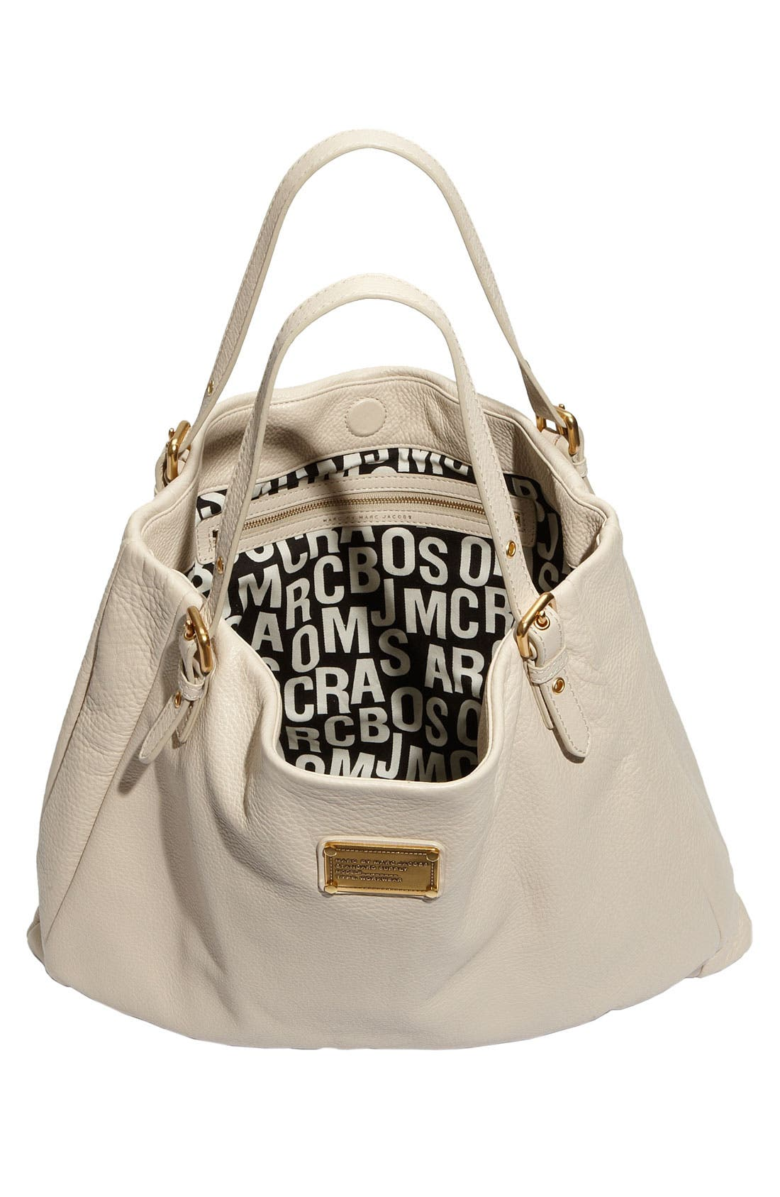 MARC BY MARC JACOBS 'Classic Q - Shopgirl' Leather Tote,                             Alternate thumbnail 8, color,