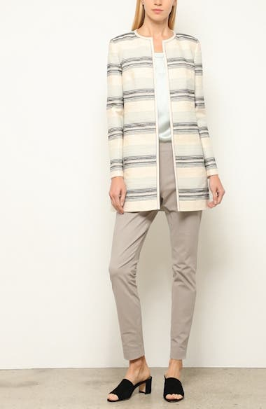 Pria Stripe Tweed Jacket, video thumbnail