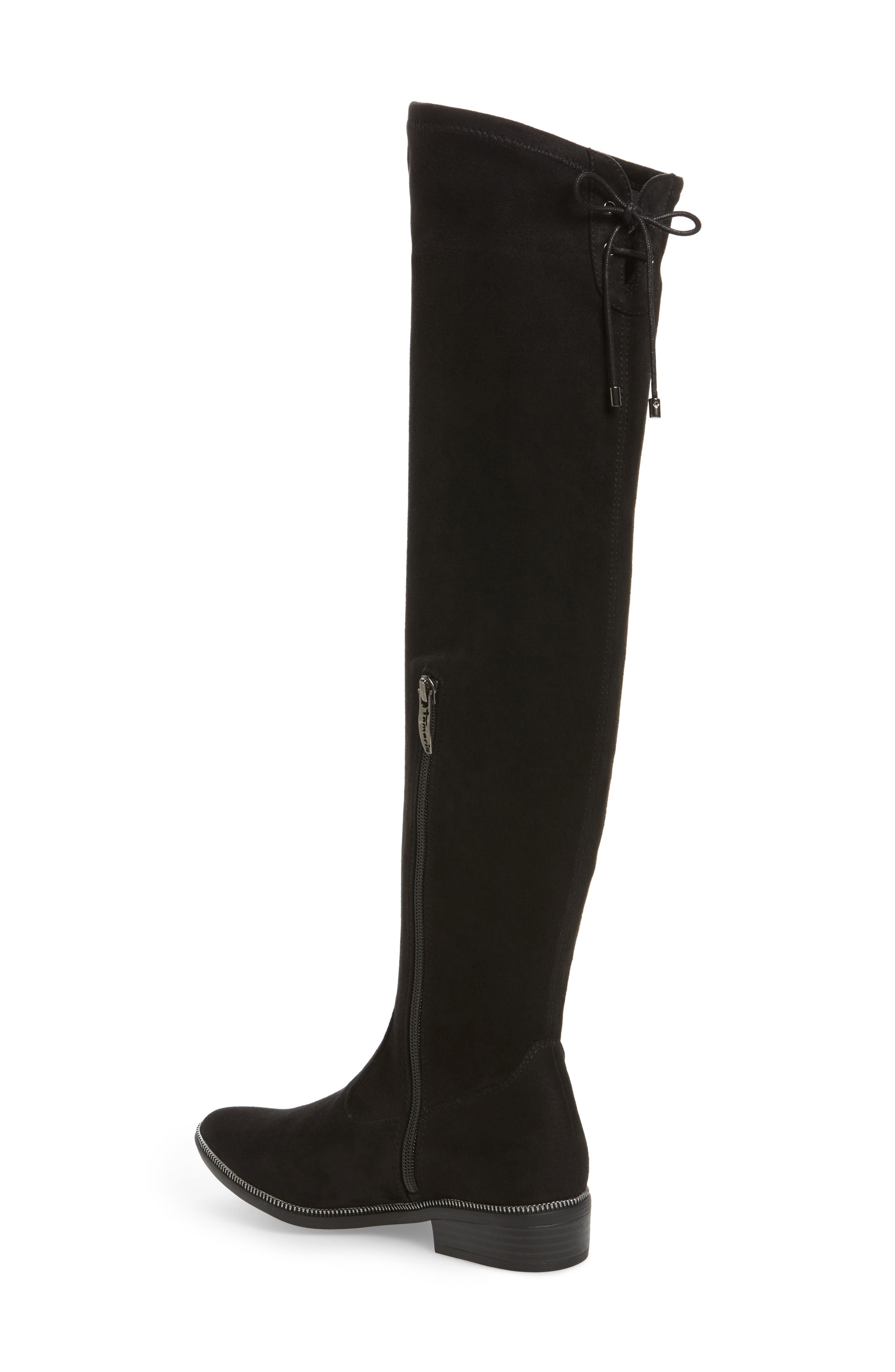 Phanie Over the Knee Stretch Boot,                             Alternate thumbnail 2, color,                             001