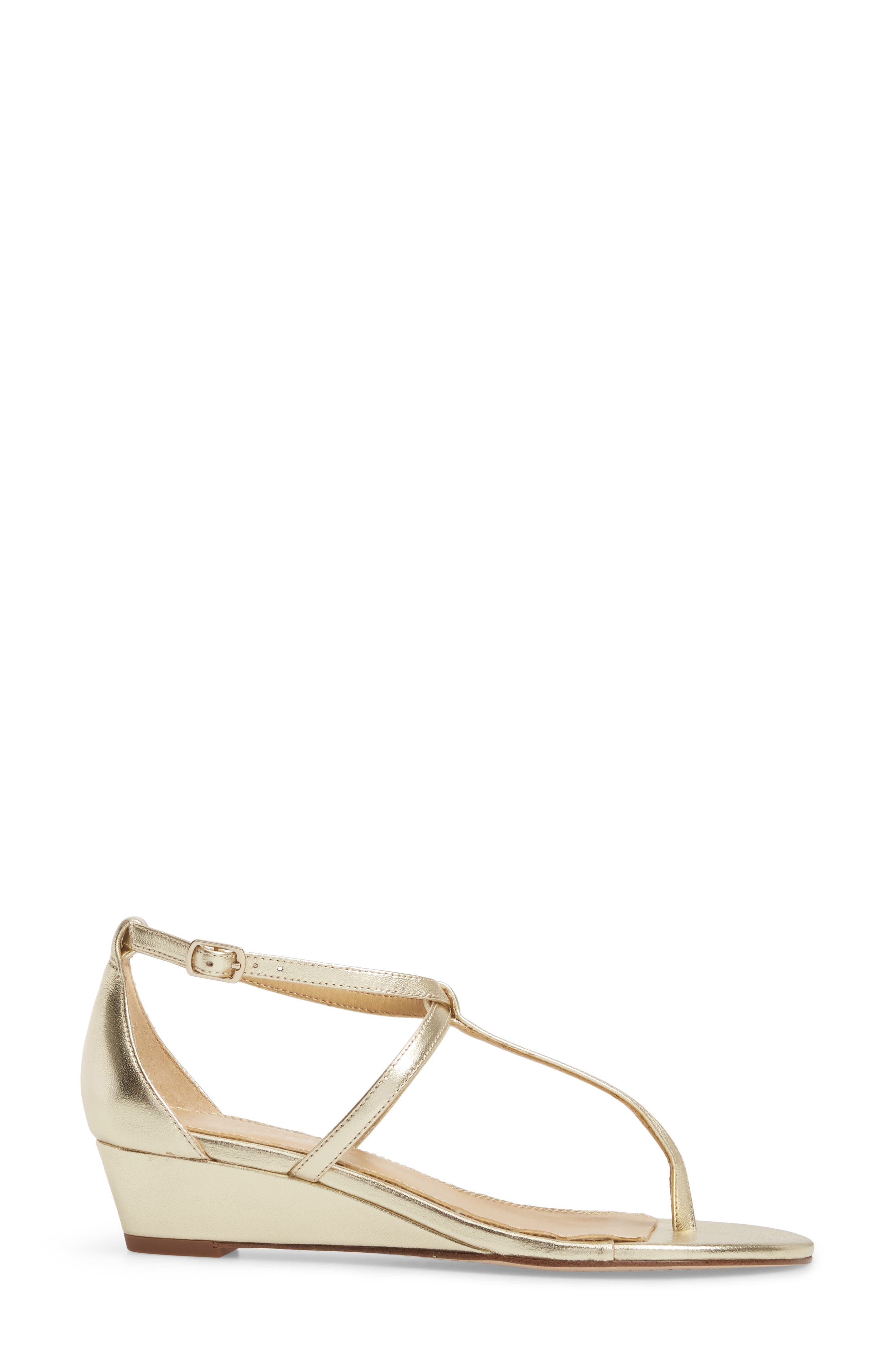 Bryce T-Strap Wedge Sandal,                             Alternate thumbnail 18, color,