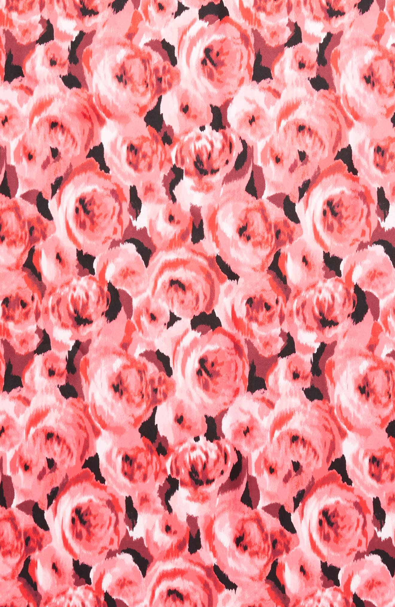 tapestry rose silk oblong scarf,                             Alternate thumbnail 4, color,