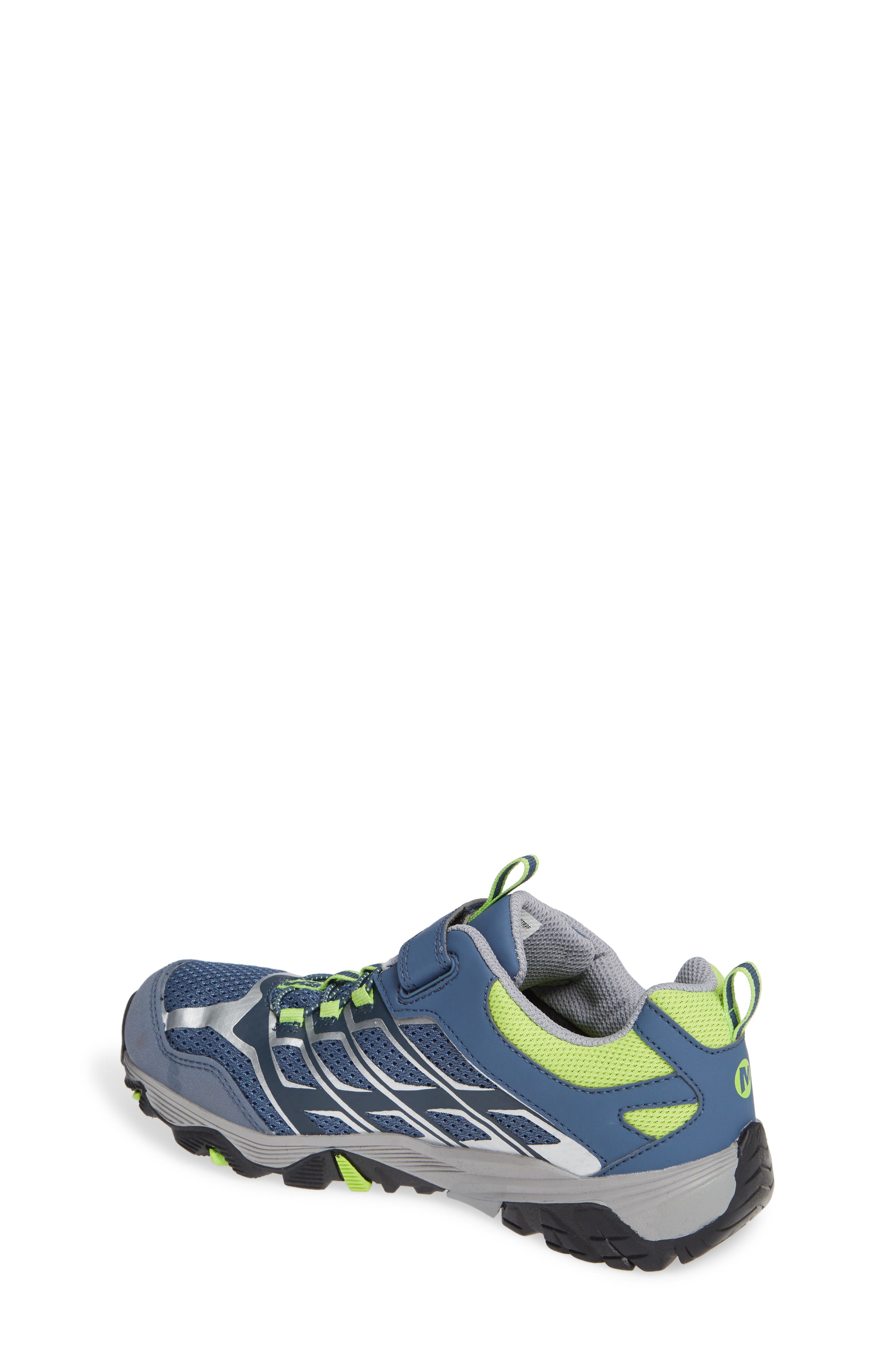 Moab FST Polar Low Waterproof Sneaker,                             Alternate thumbnail 2, color,                             GREY/ GREEN