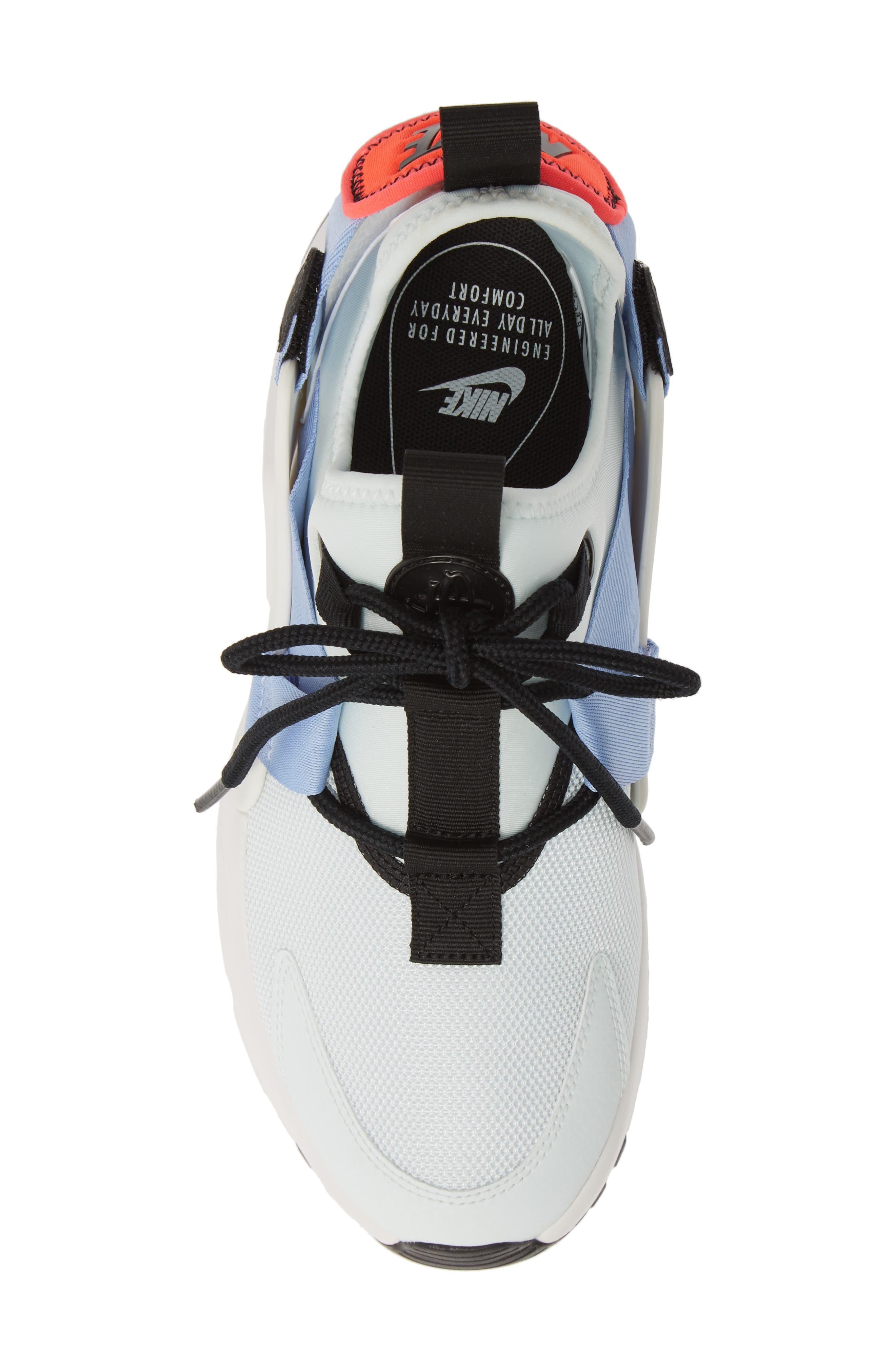 NIKE,                             Air Huarache City Sneaker,                             Alternate thumbnail 5, color,                             GHOST AQUA/ BLACK/ WHITE