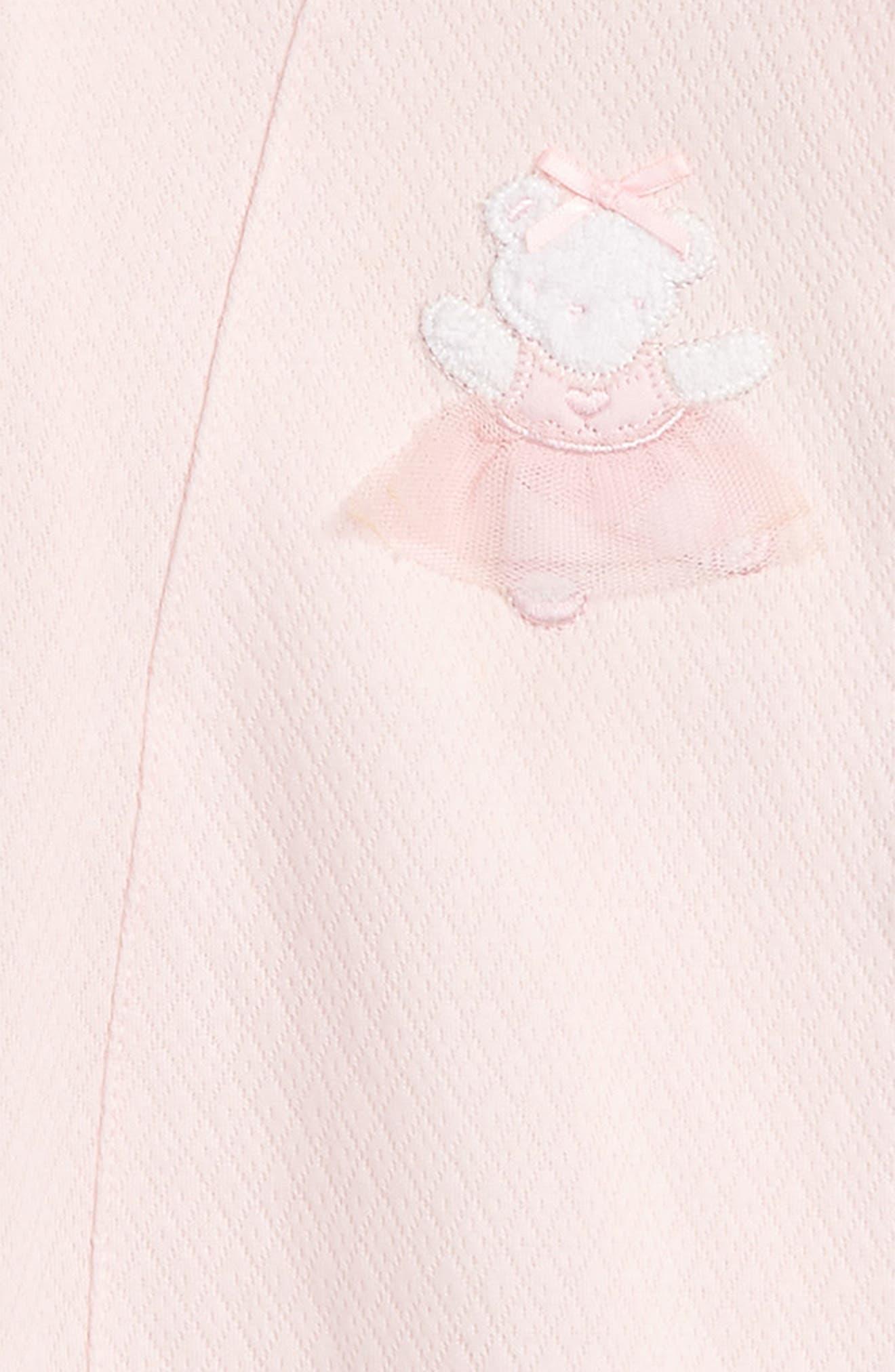 Ballet Bear Footie & Hat Set,                             Alternate thumbnail 2, color,                             677