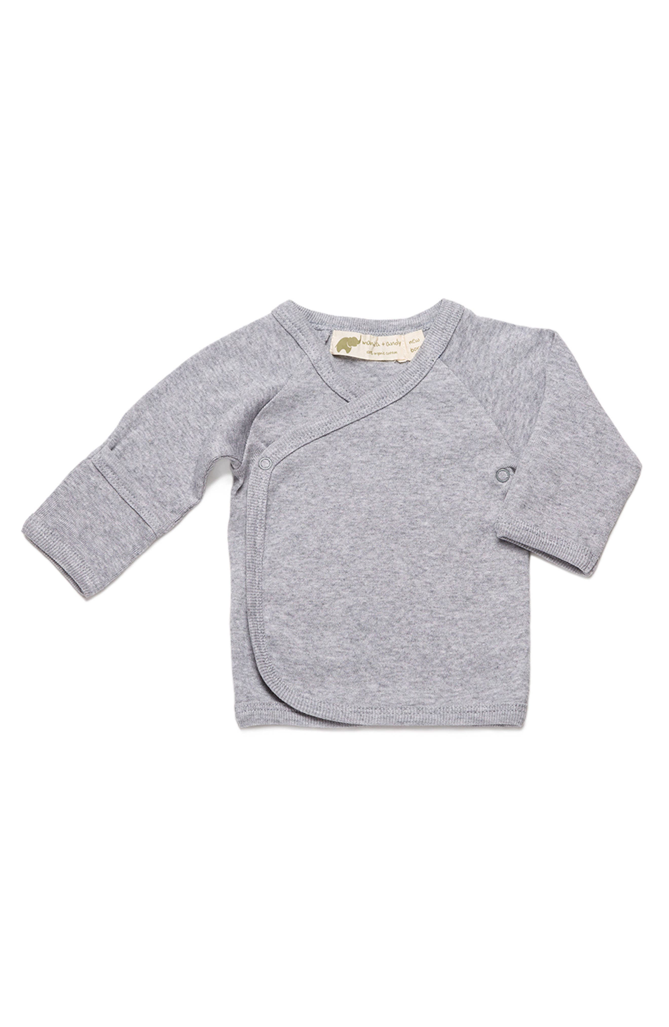 Hello Baby Organic Cotton Top,                         Main,                         color, 020