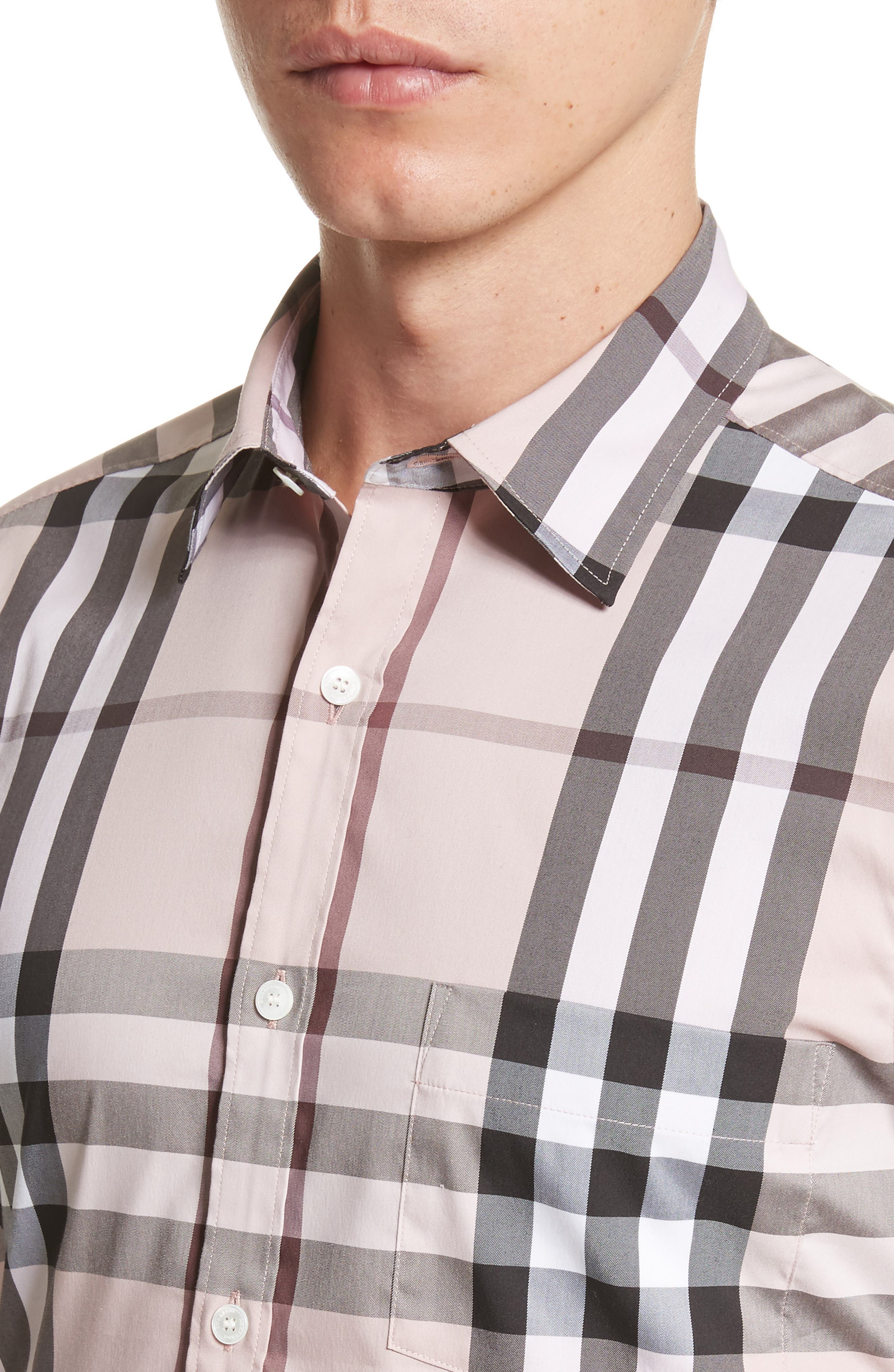 Nelson Check Sport Shirt,                             Alternate thumbnail 95, color,