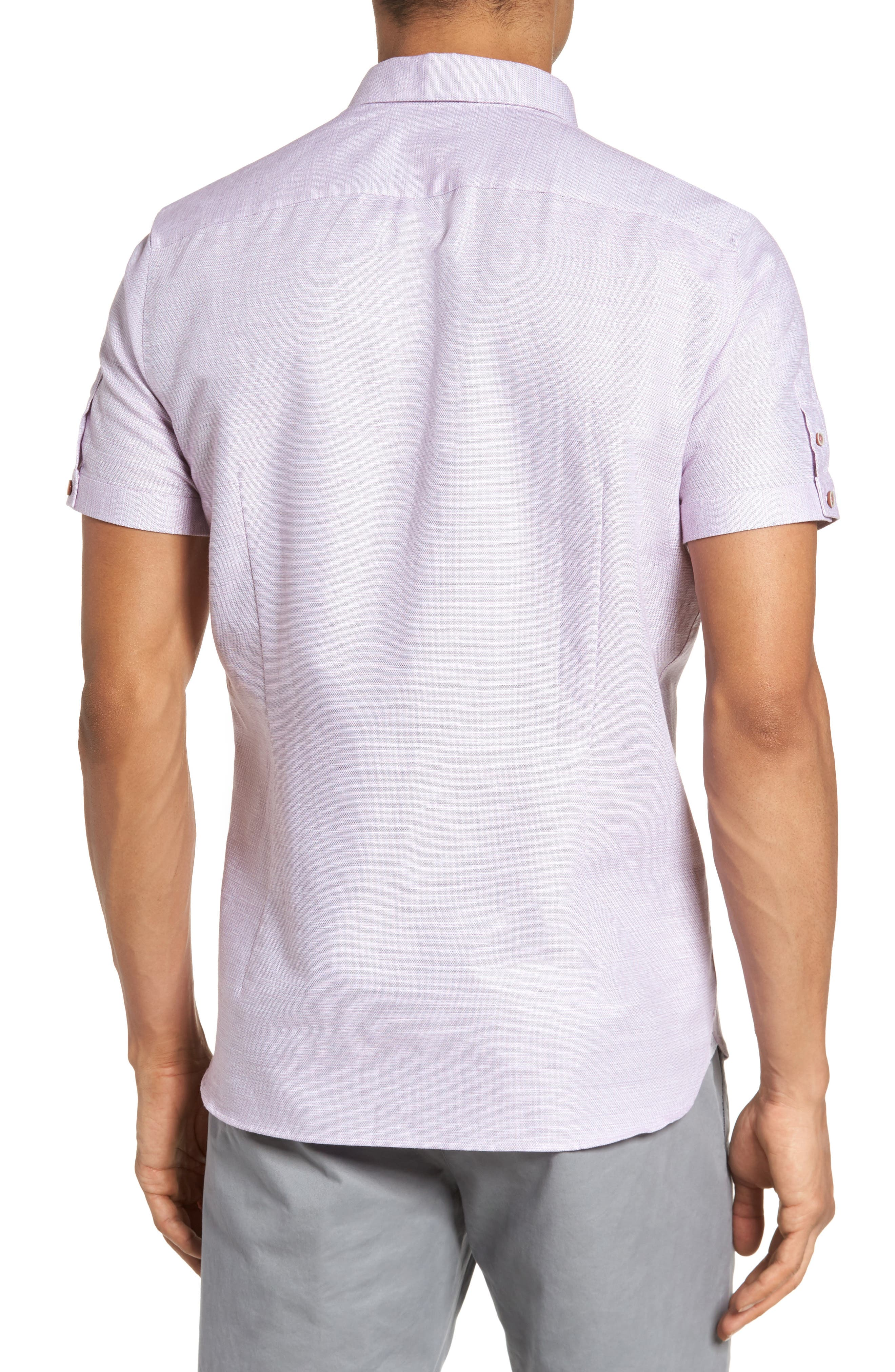 Slim Fit Sport Shirt,                             Alternate thumbnail 10, color,