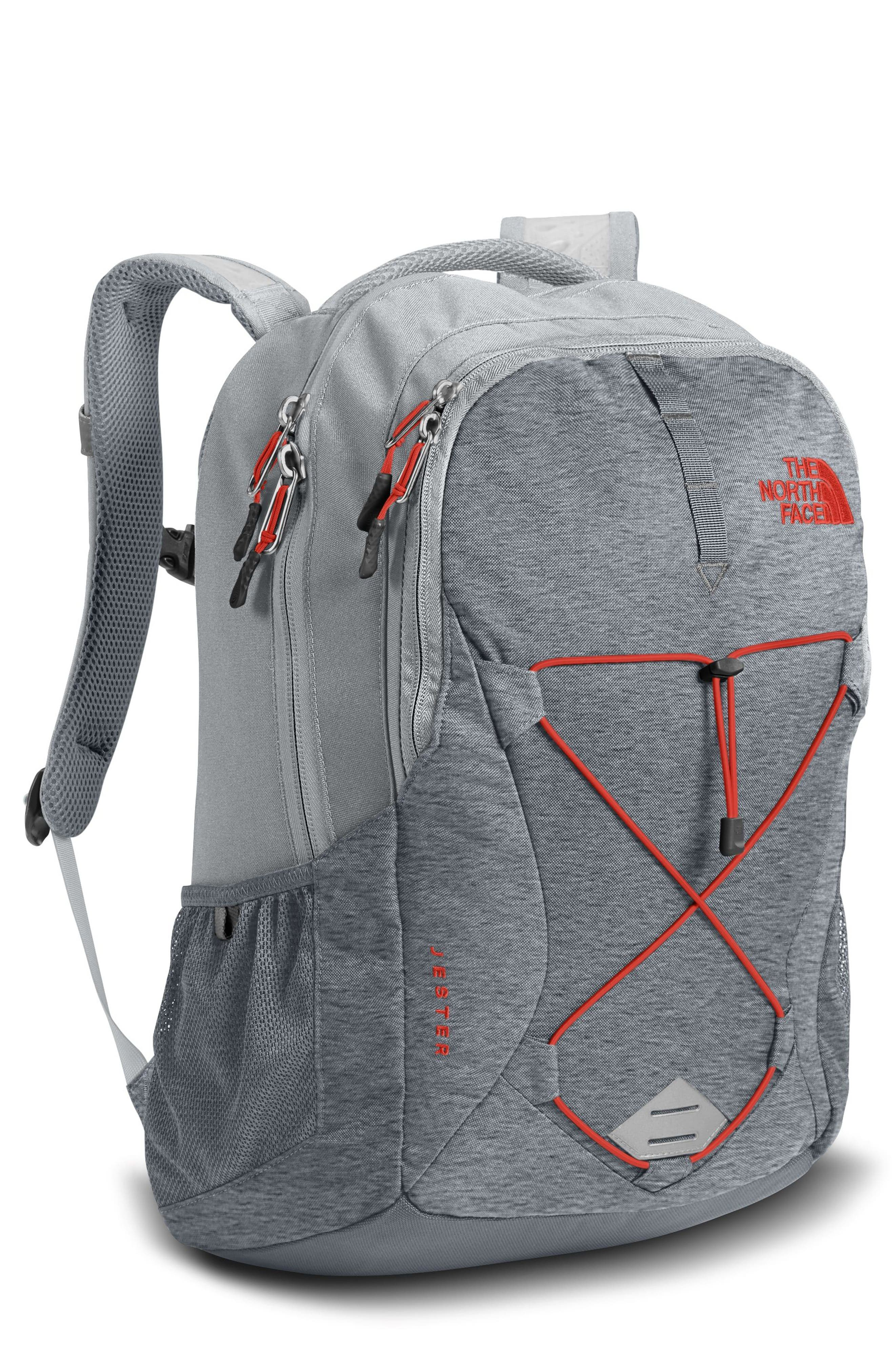 Jester Backpack,                         Main,                         color, GREY DARK HTHER/HIGH RISE GREY