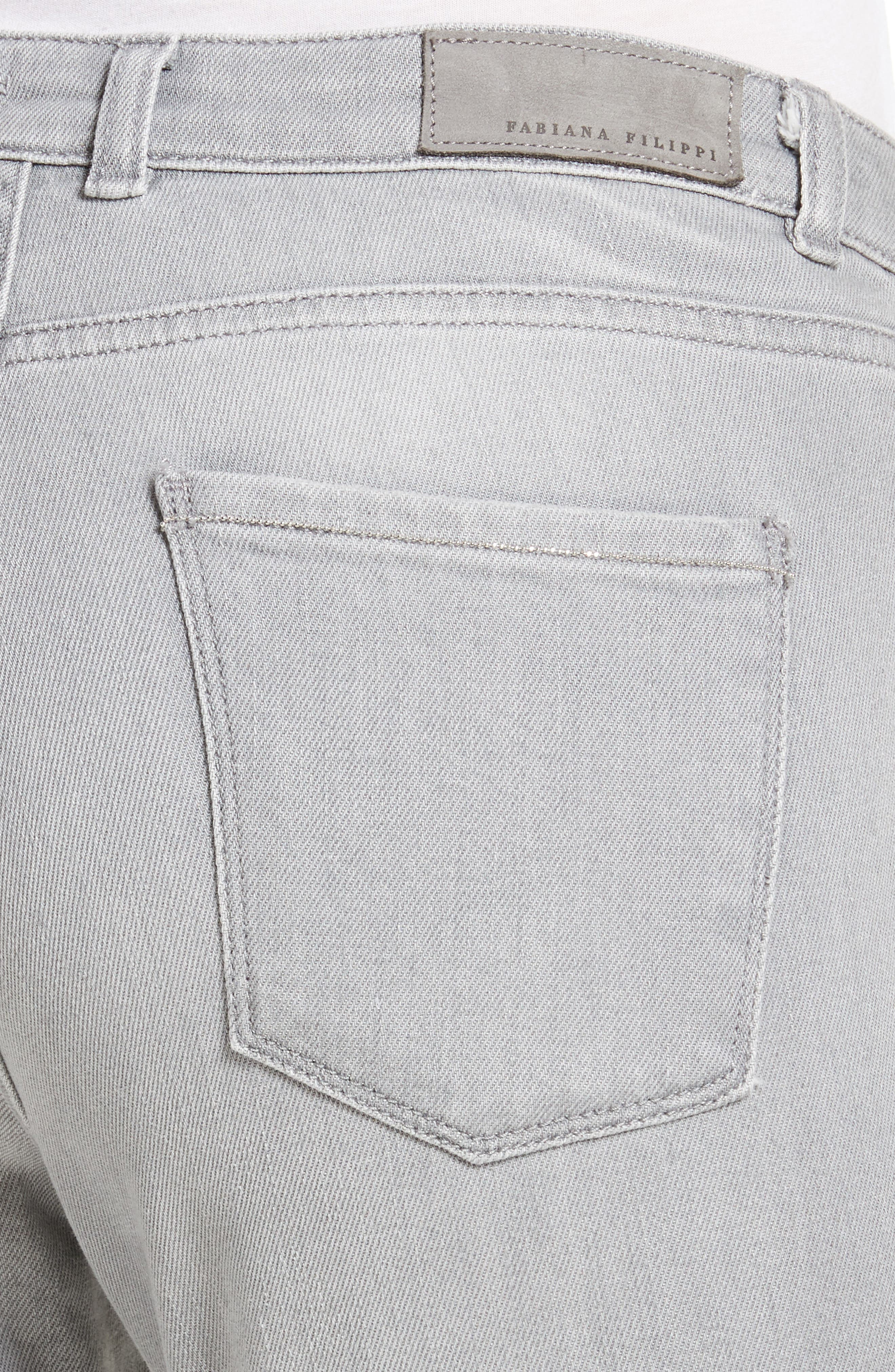 Stretch Skinny Jeans,                             Alternate thumbnail 5, color,                             020