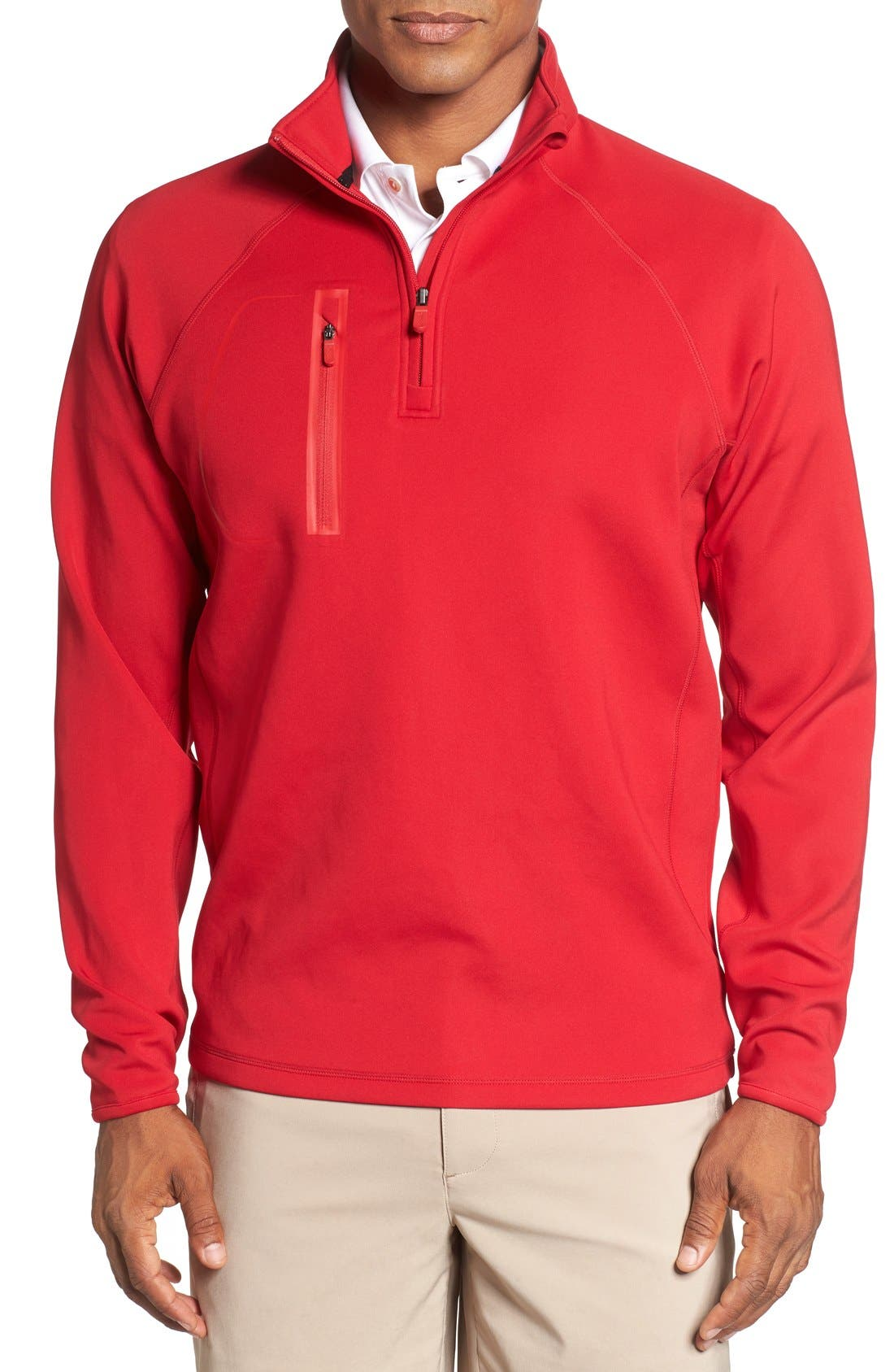 XH2O Crawford Stretch Quarter Zip Golf Pullover,                             Main thumbnail 11, color,