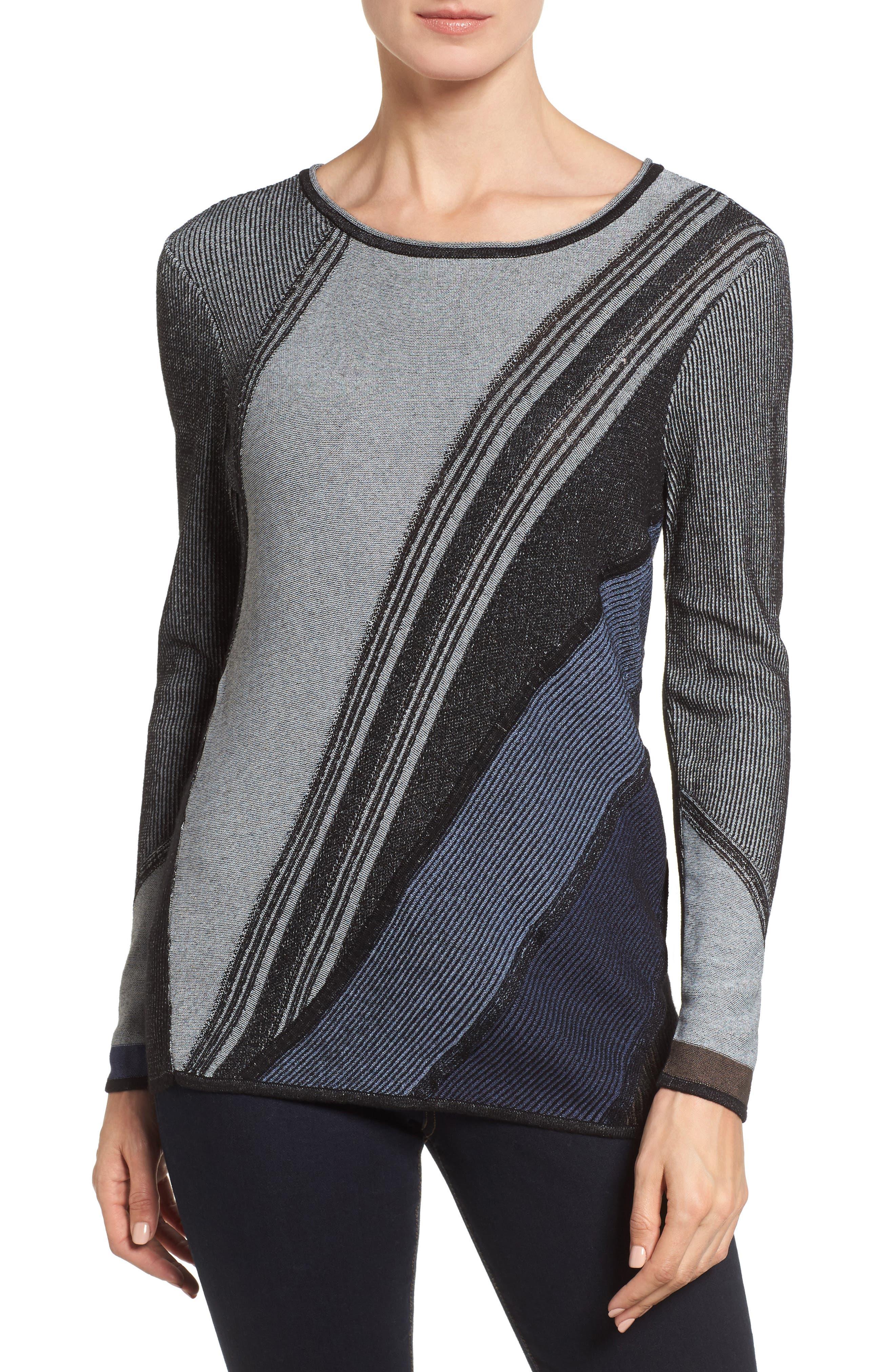 Blue Horizon Knit Top,                         Main,                         color, 499