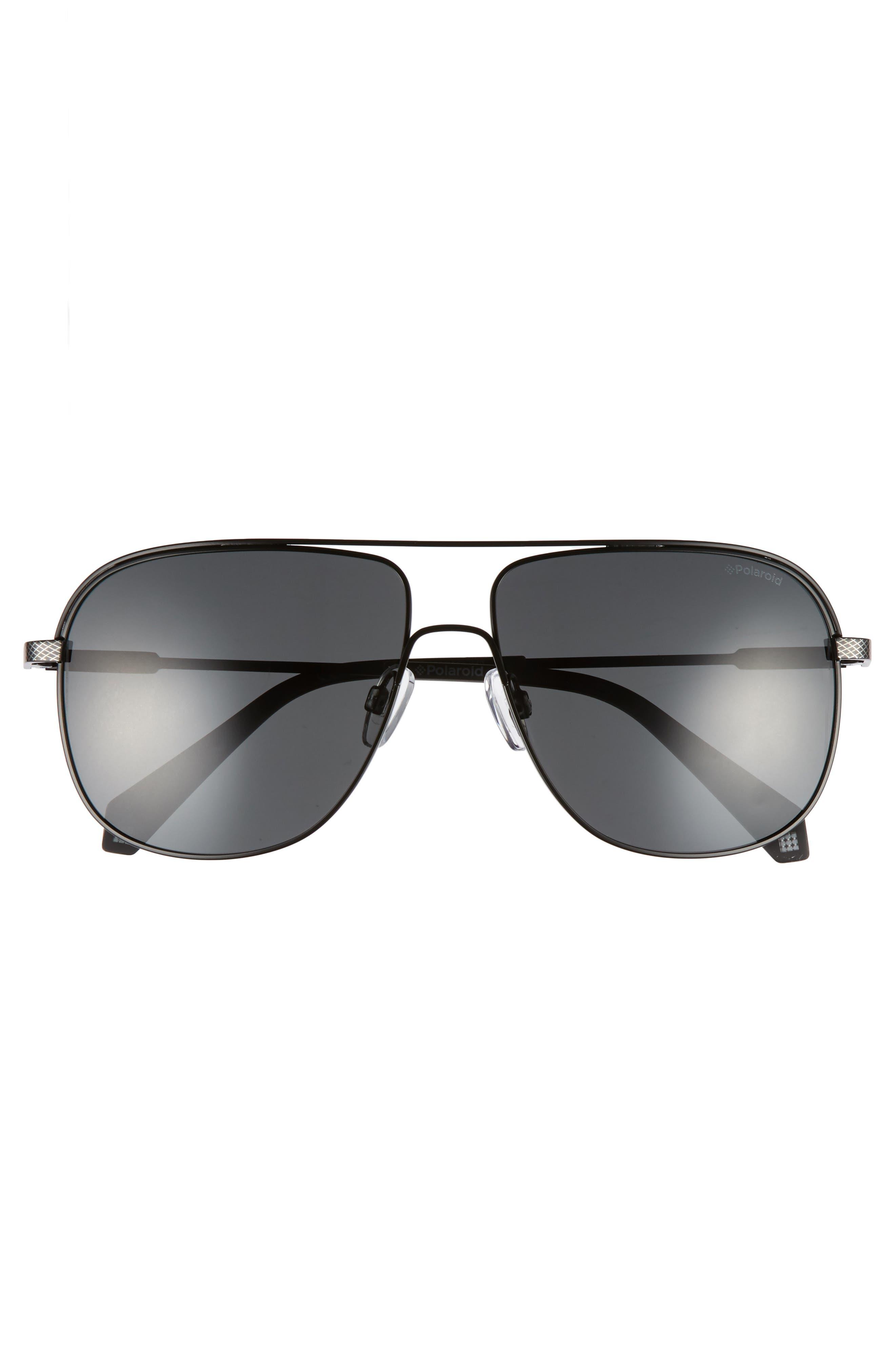 Polaroid 2055S 59mm Polarized Sunglasses,                             Alternate thumbnail 2, color,                             001