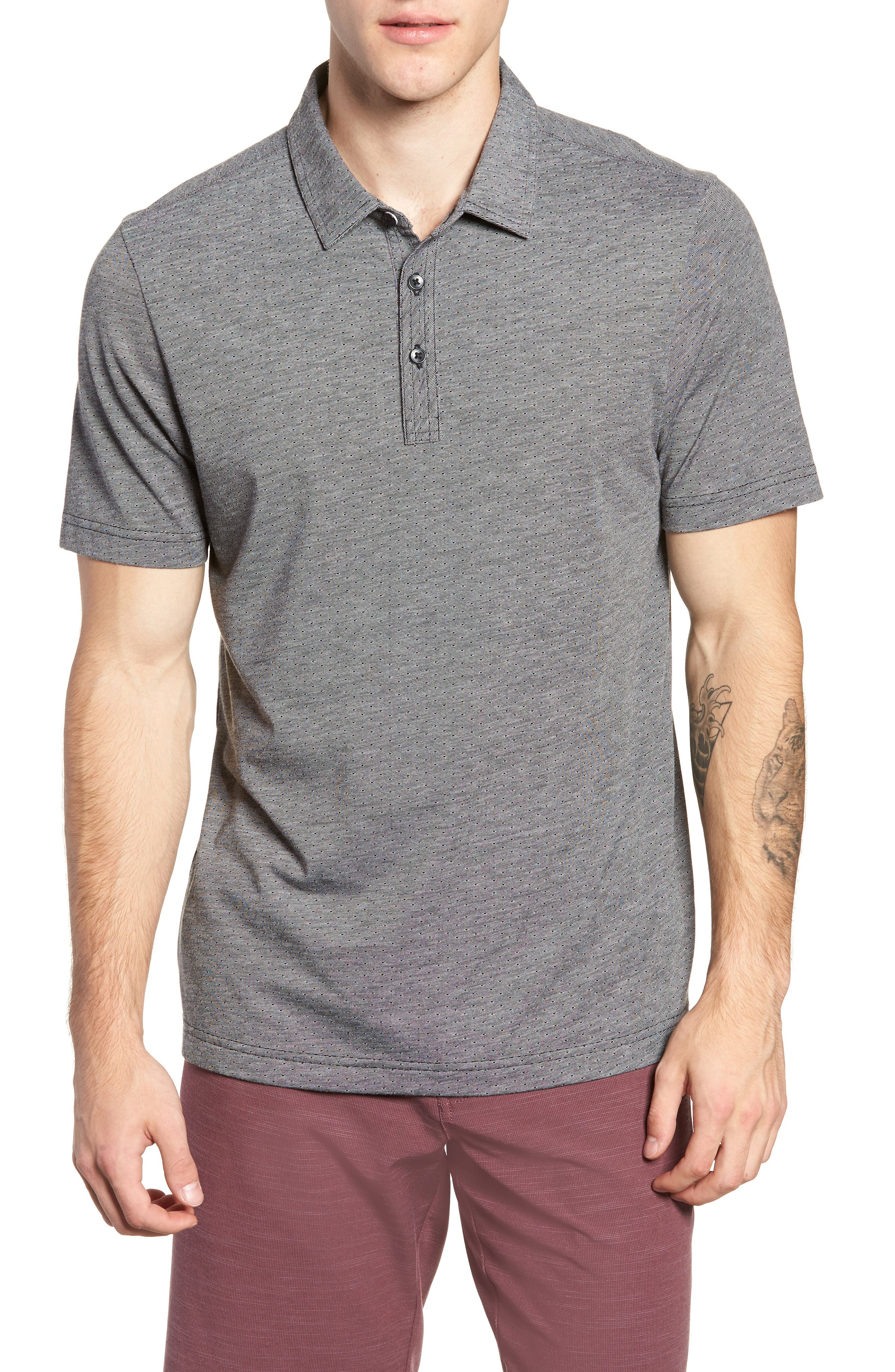 Sway Sway Trim Fit Polo,                         Main,                         color, 001