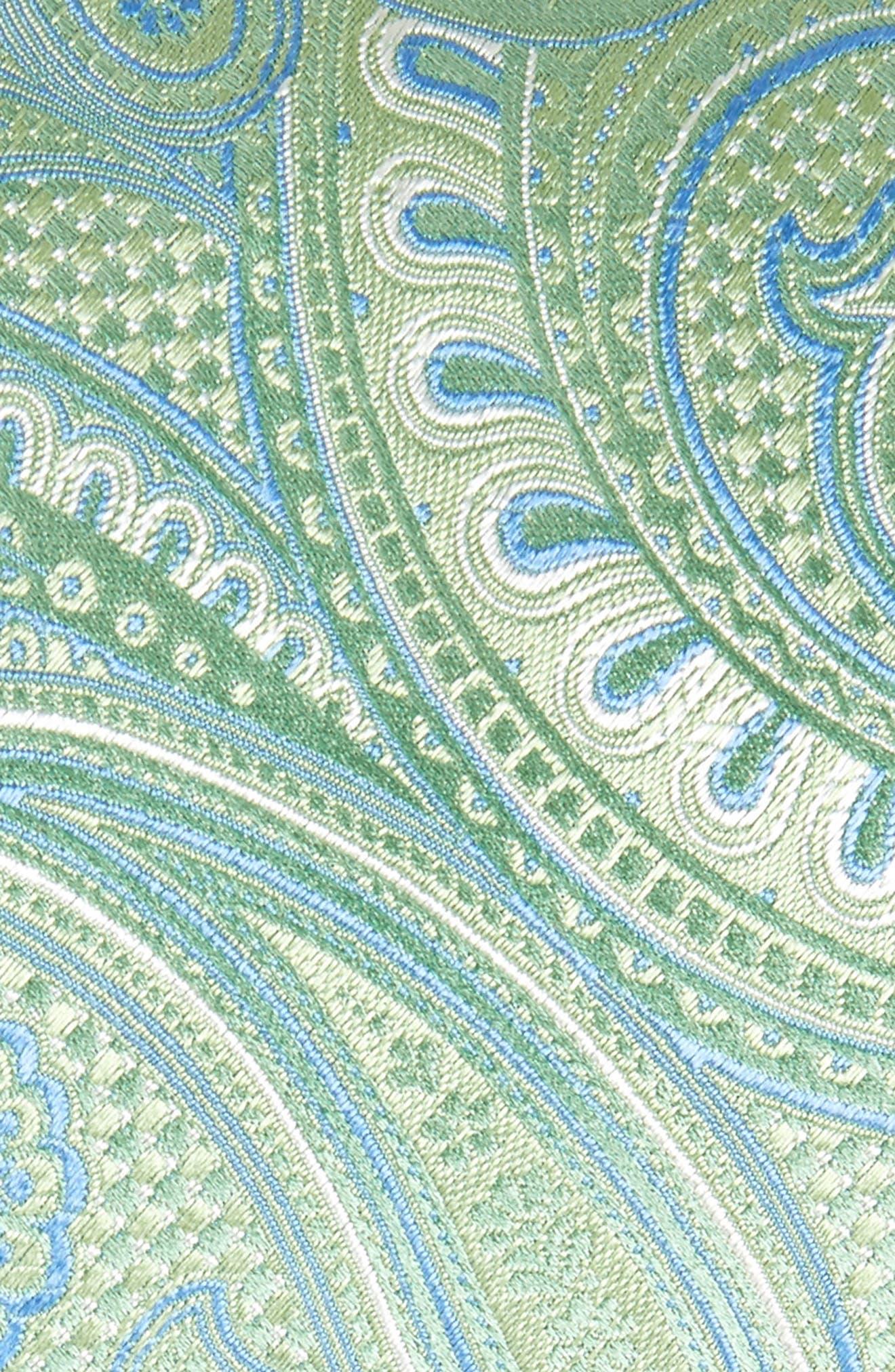 John W. Nordstrom Paisley Silk Tie,                             Alternate thumbnail 6, color,