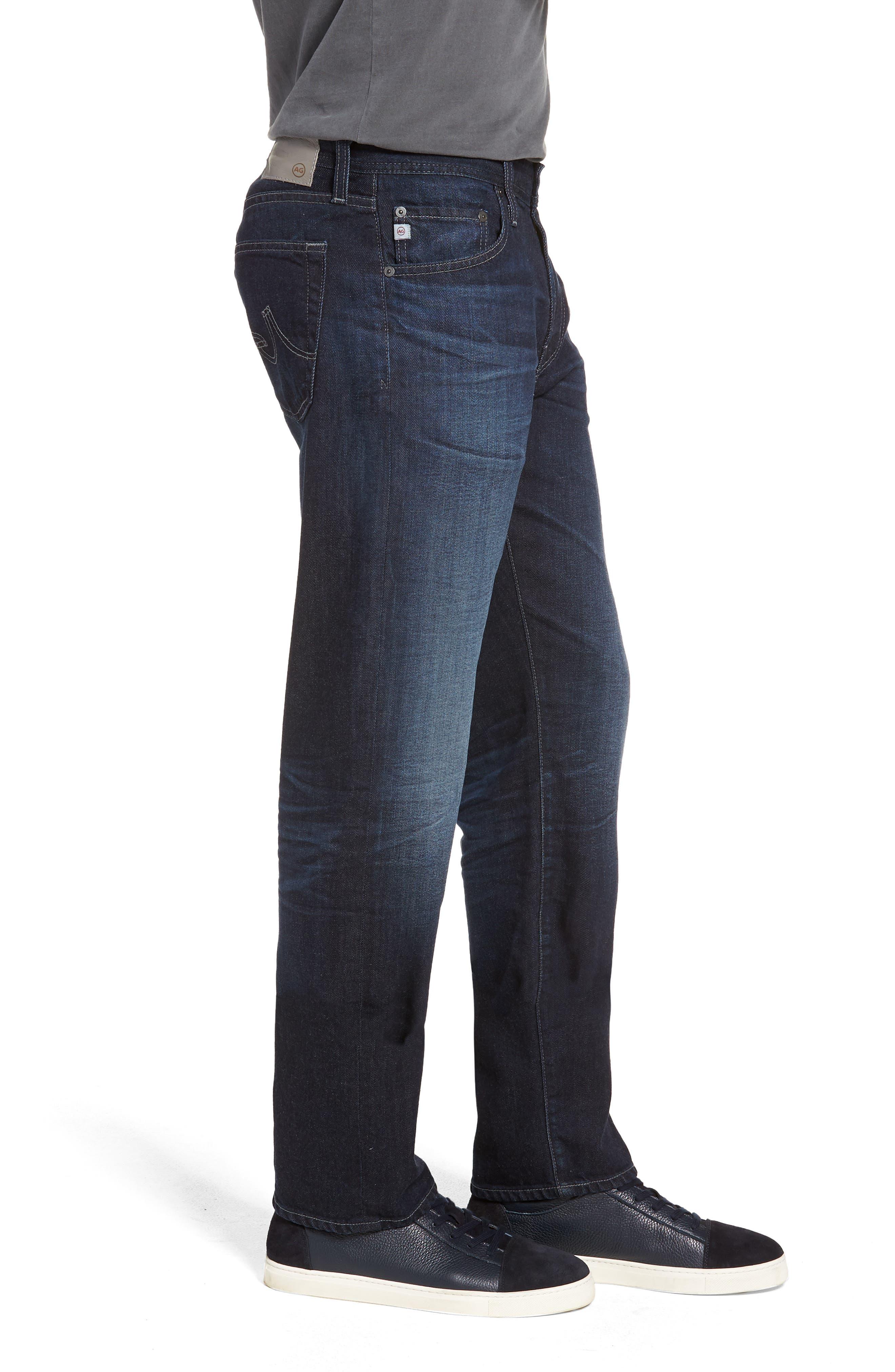 Graduate Slim Straight Leg Jeans,                             Alternate thumbnail 3, color,                             486