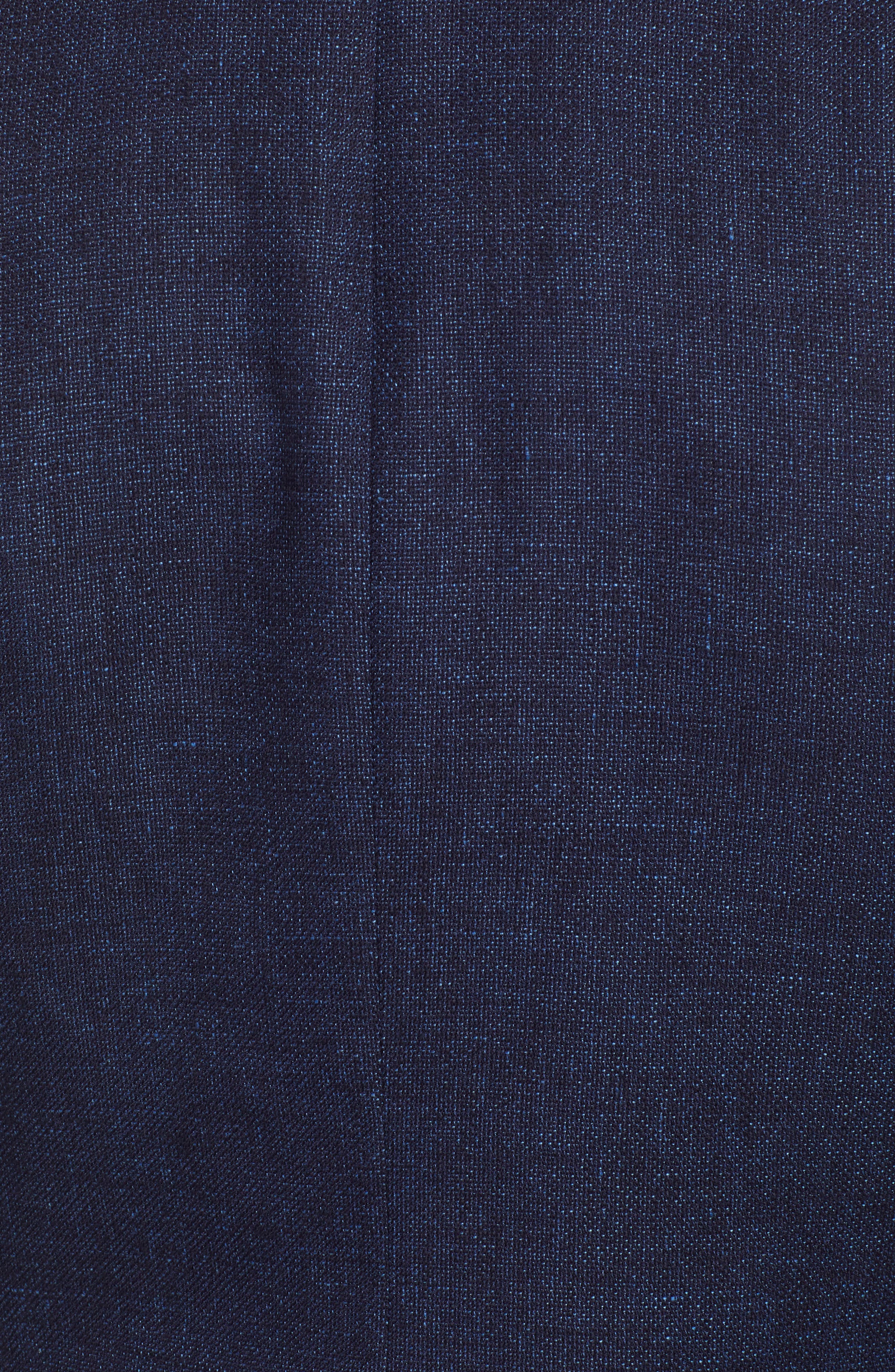 Downhill Tailored Wool Sport Coat,                             Alternate thumbnail 6, color,                             NAVY