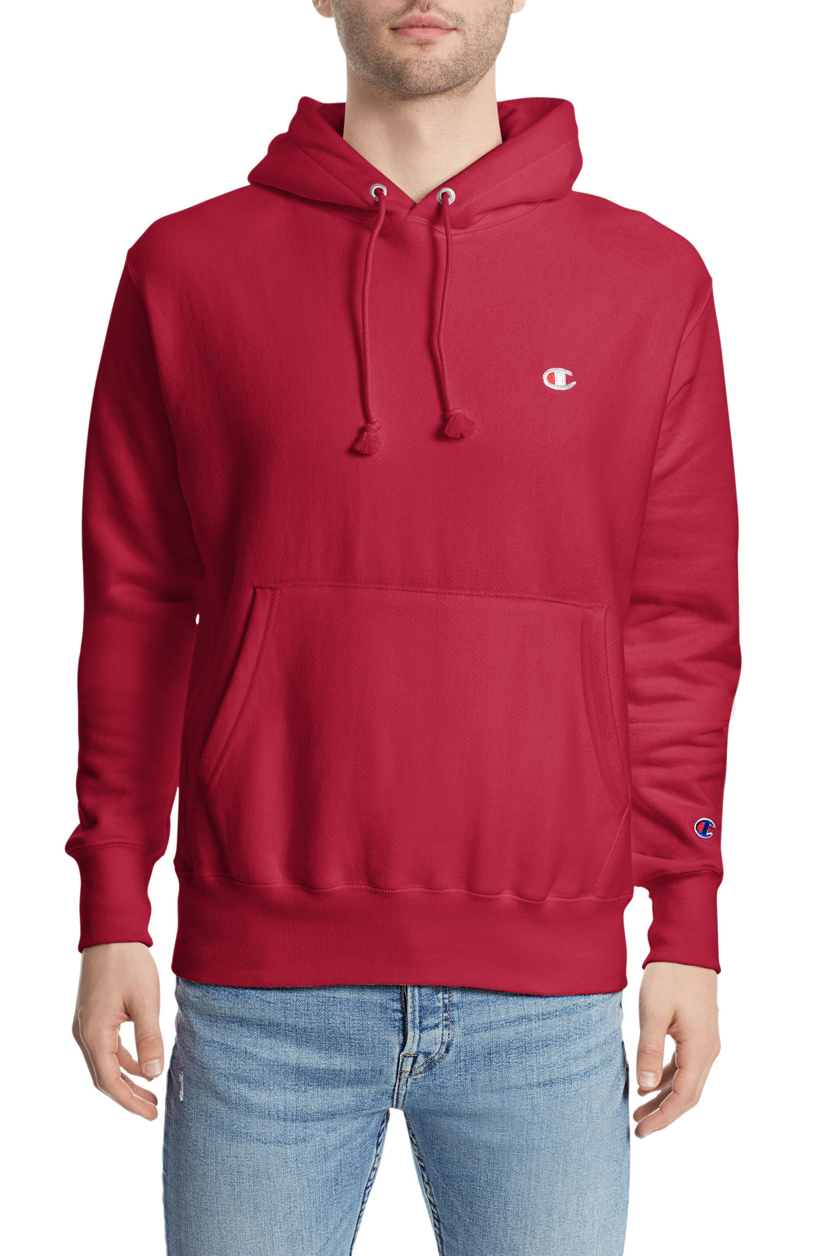Reverse Weave<sup>®</sup> Pullover Hoodie,                             Main thumbnail 9, color,