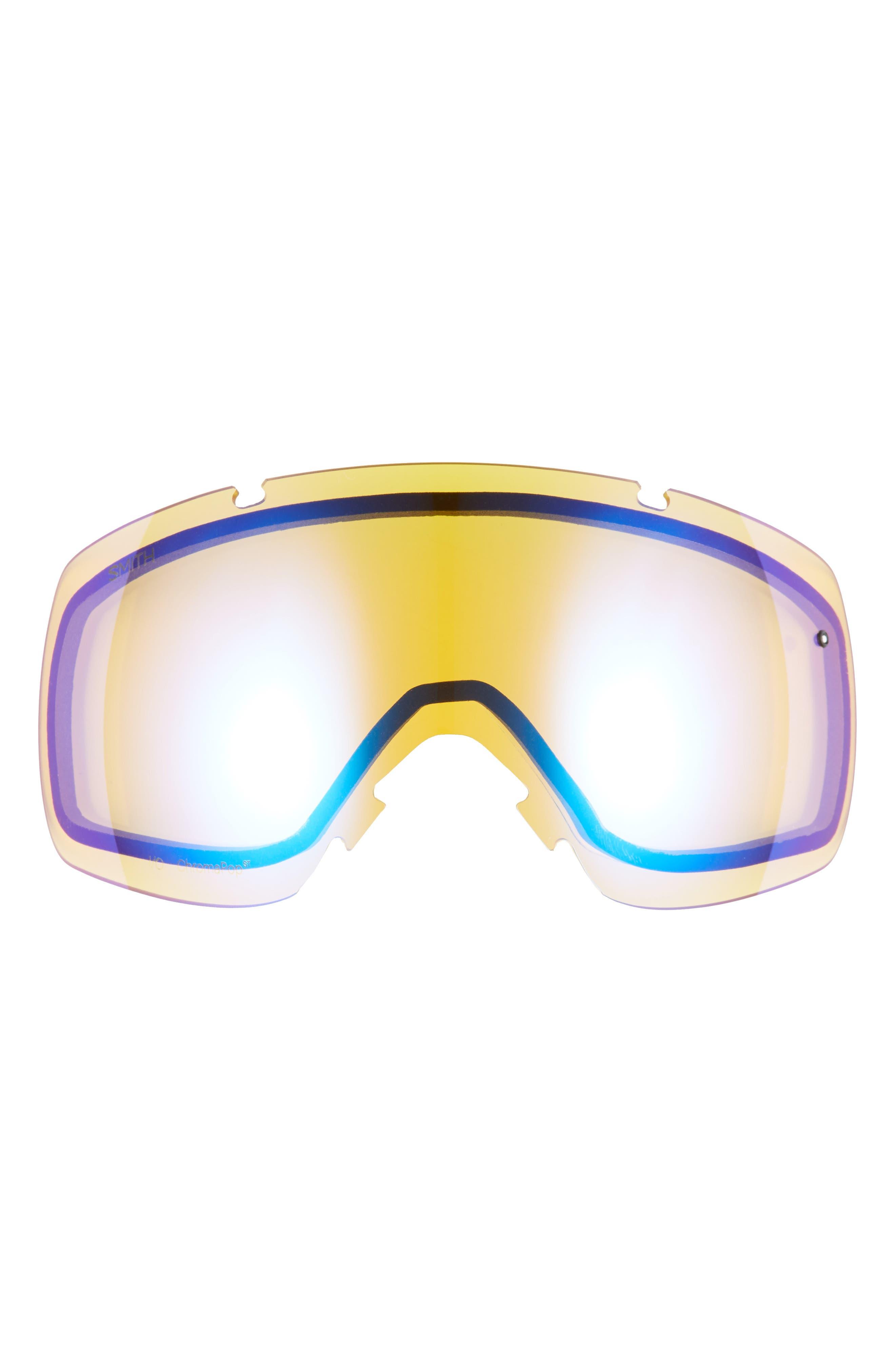 SMITH,                             I/O 215mm ChromaPop Snow Goggles,                             Alternate thumbnail 3, color,                             CLOUD GREY