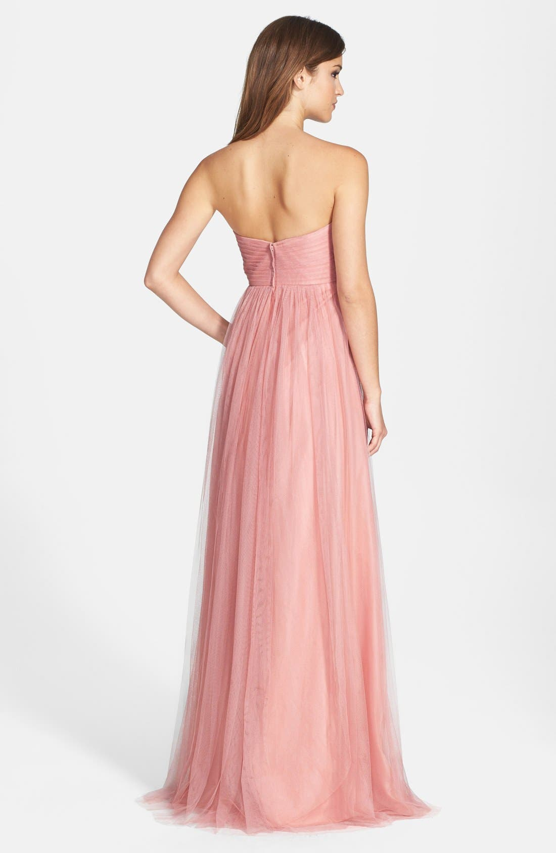 Annabelle Convertible Tulle Column Dress,                             Alternate thumbnail 176, color,