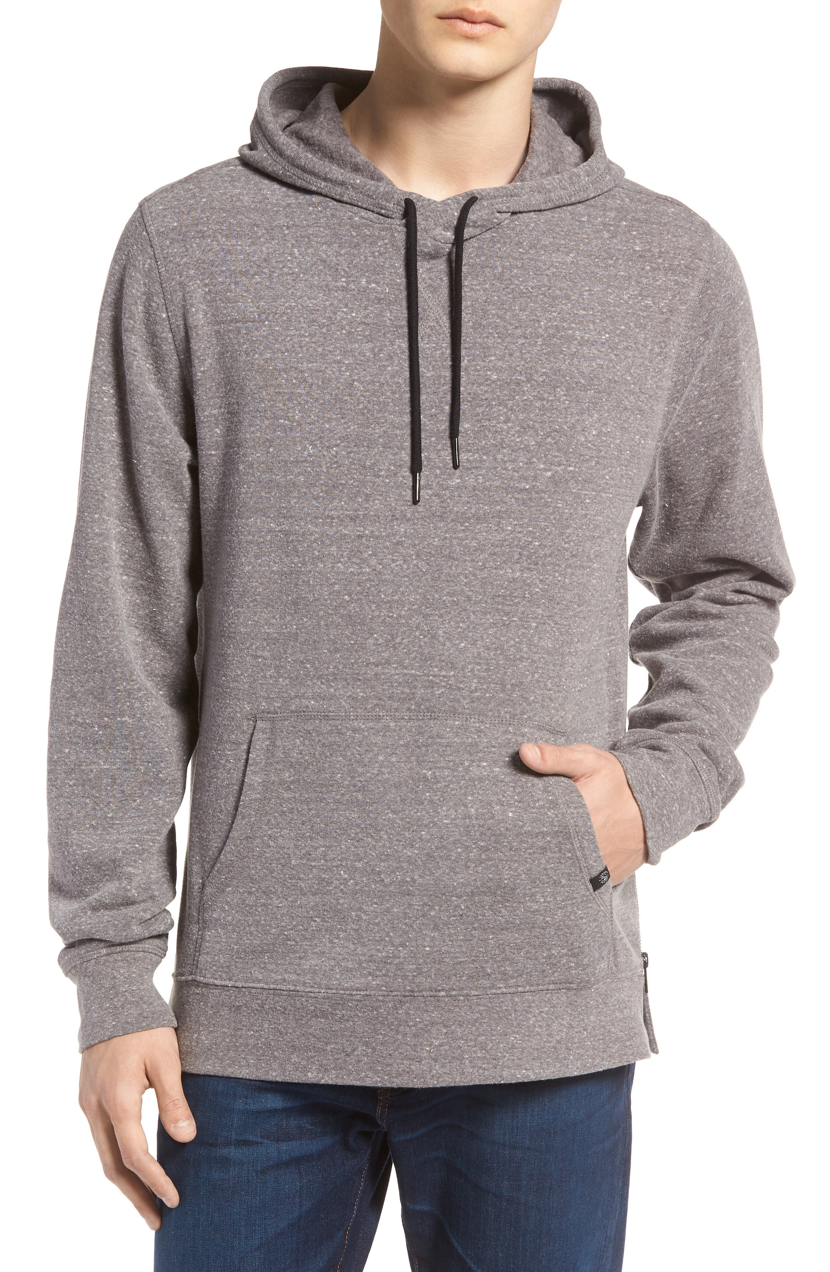THREADS FOR THOUGHT,                             Barkeley Side Zip Hoodie Sweatshirt,                             Main thumbnail 1, color,                             020